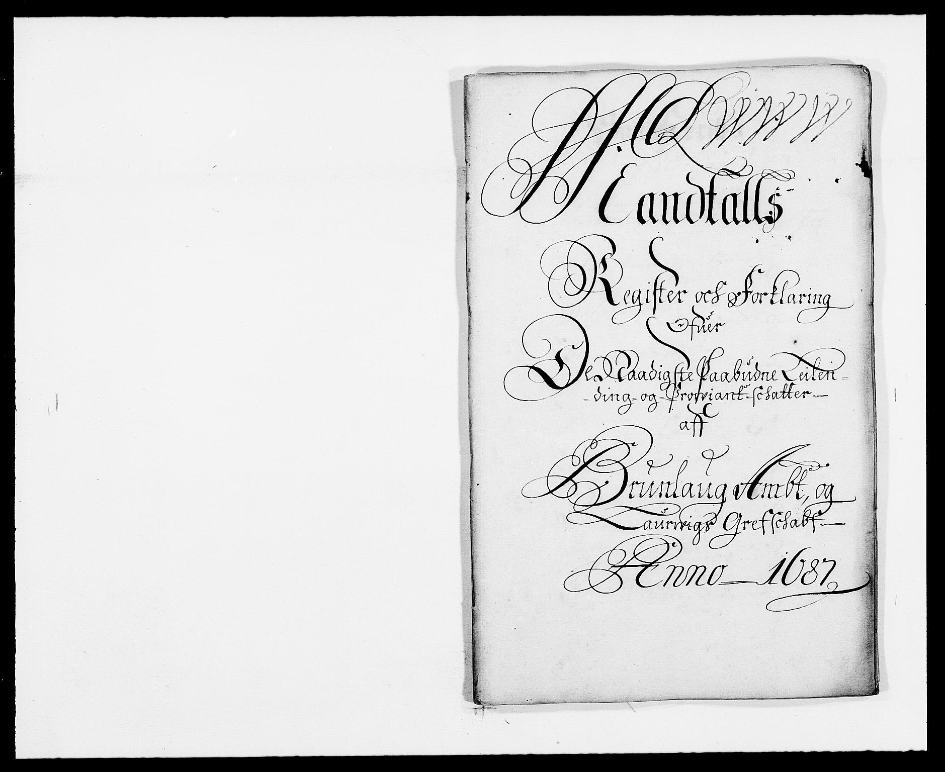 RA, Rentekammeret inntil 1814, Reviderte regnskaper, Fogderegnskap, R33/L1970: Fogderegnskap Larvik grevskap, 1675-1687, s. 280