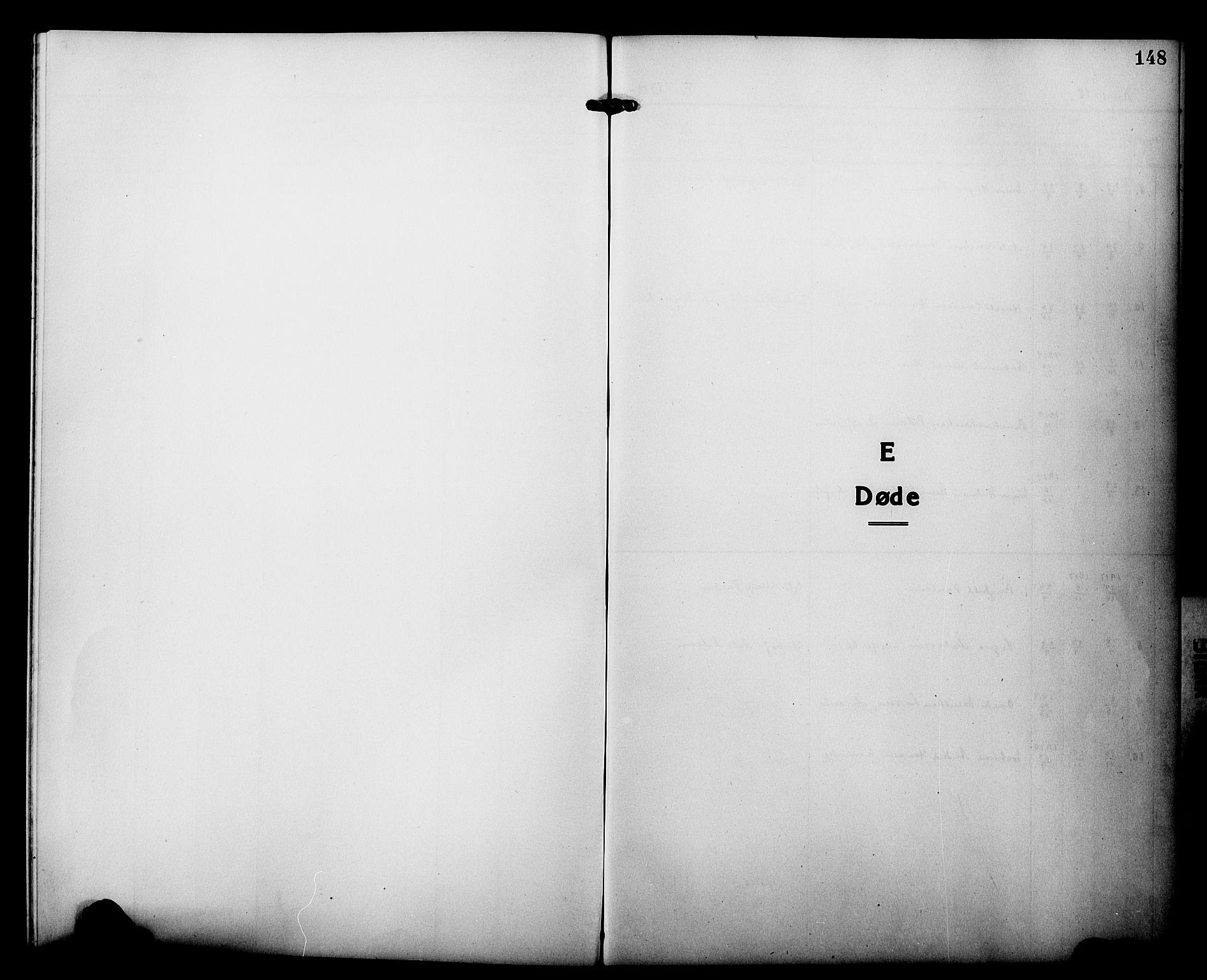 SATØ, Tranøy sokneprestkontor, I/Ia/Iab/L0015klokker: Klokkerbok nr. 15, 1918-1930, s. 148