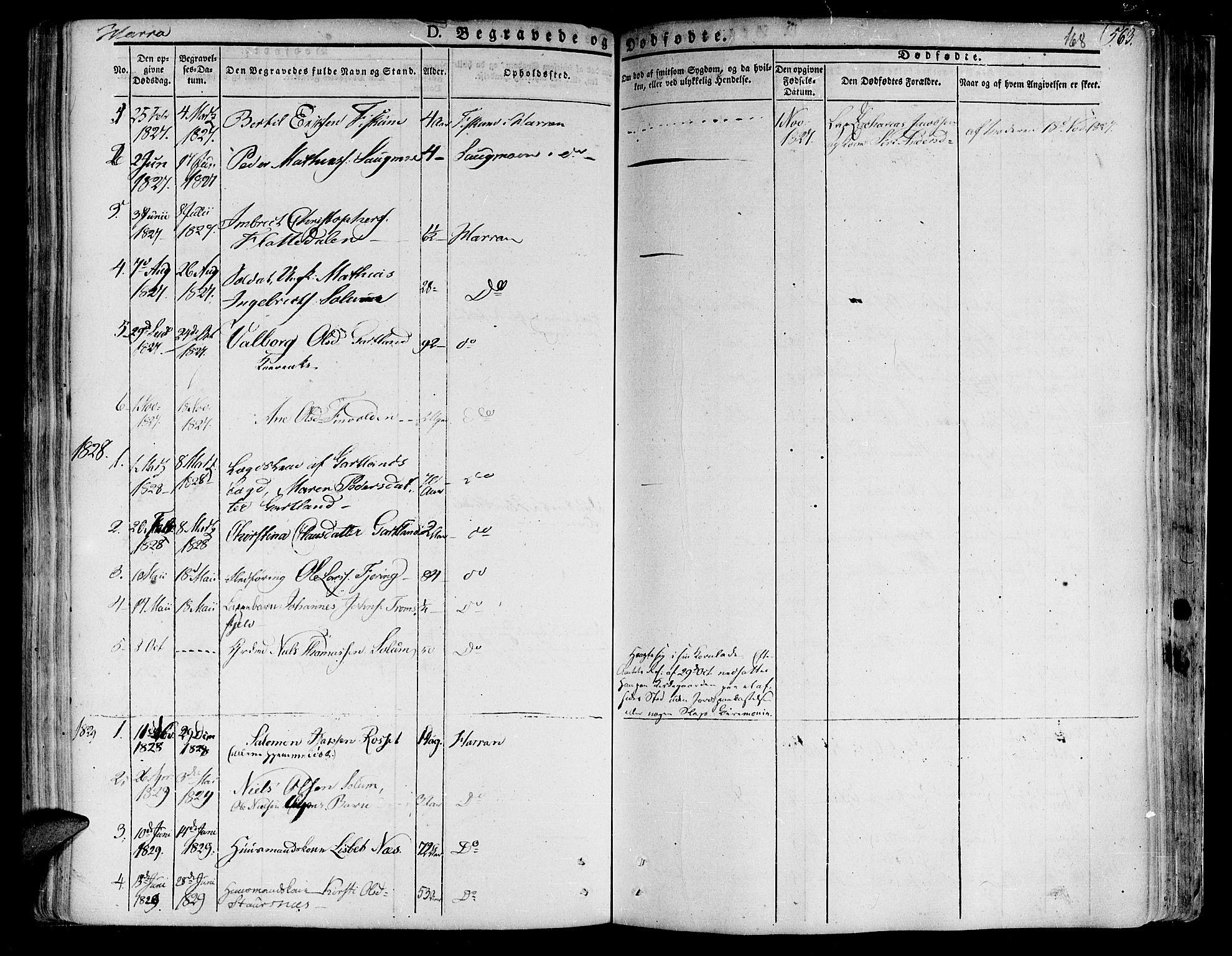 SAT, Ministerialprotokoller, klokkerbøker og fødselsregistre - Nord-Trøndelag, 758/L0510: Ministerialbok nr. 758A01 /3, 1821-1841, s. 168