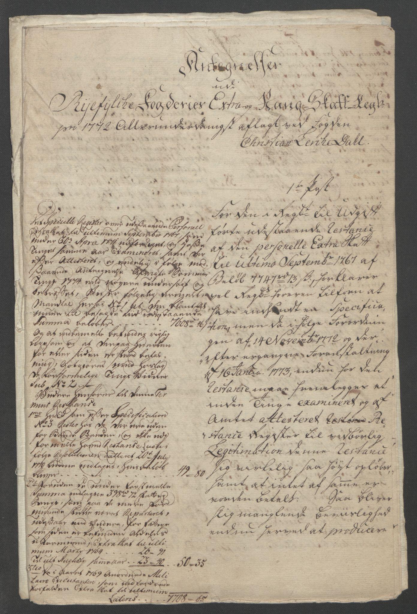 RA, Rentekammeret inntil 1814, Reviderte regnskaper, Fogderegnskap, R47/L2972: Ekstraskatten Ryfylke, 1762-1780, s. 360