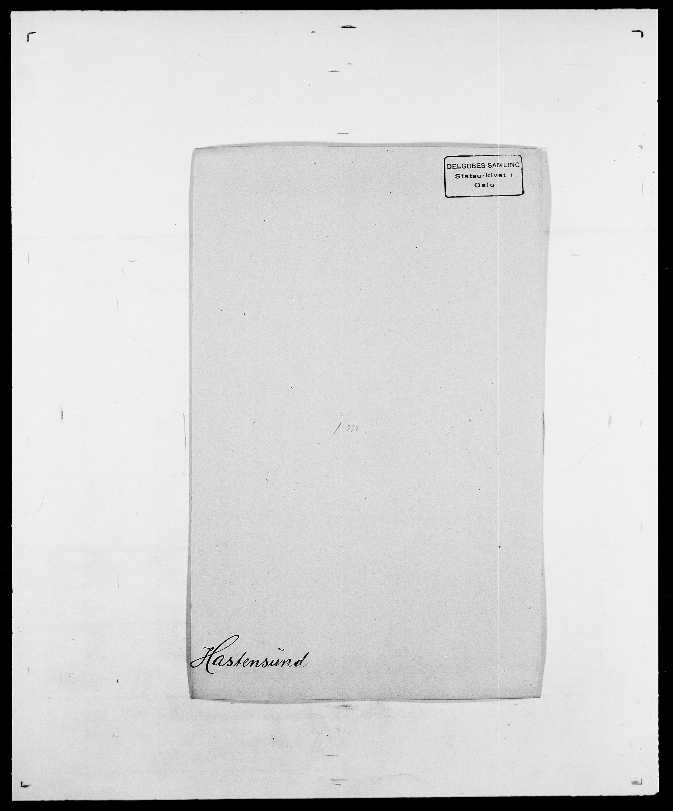 SAO, Delgobe, Charles Antoine - samling, D/Da/L0016: Hamborg - Hektoen, s. 555