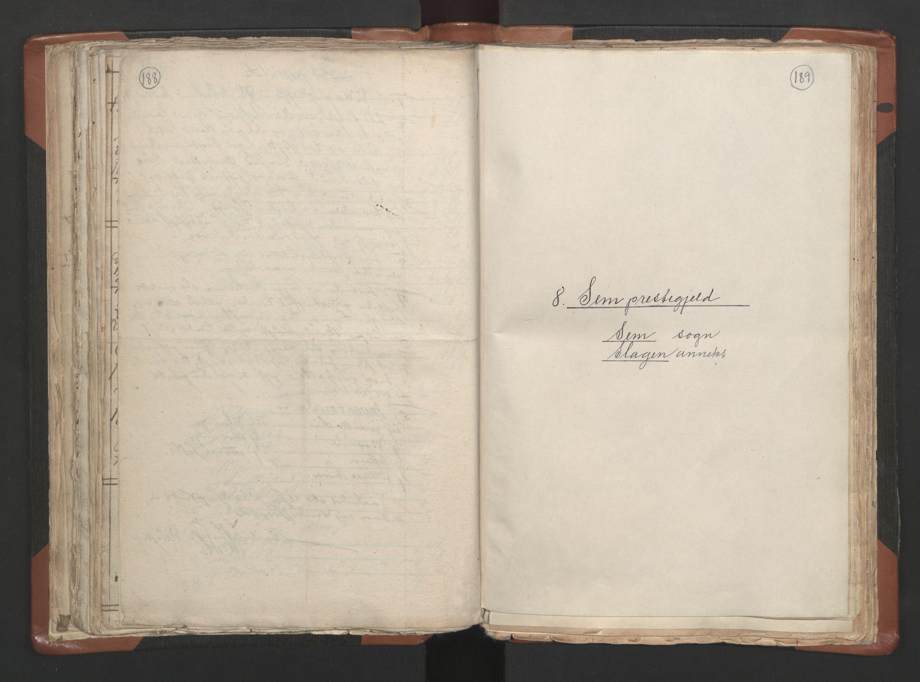 RA, Sogneprestenes manntall 1664-1666, nr. 10: Tønsberg prosti, 1664-1666, s. 188-189