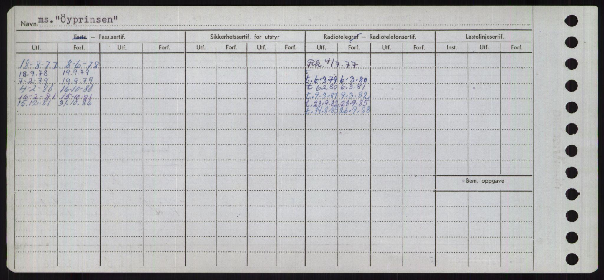 RA, Sjøfartsdirektoratet med forløpere, Skipsmålingen, H/Ha/L0006: Fartøy, Sver-Å, s. 837