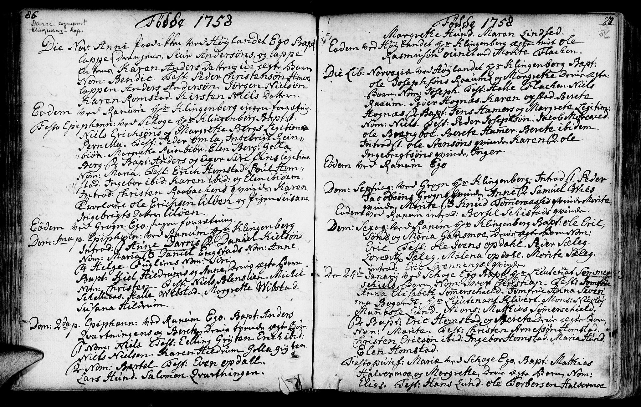 SAT, Ministerialprotokoller, klokkerbøker og fødselsregistre - Nord-Trøndelag, 764/L0542: Ministerialbok nr. 764A02, 1748-1779, s. 86