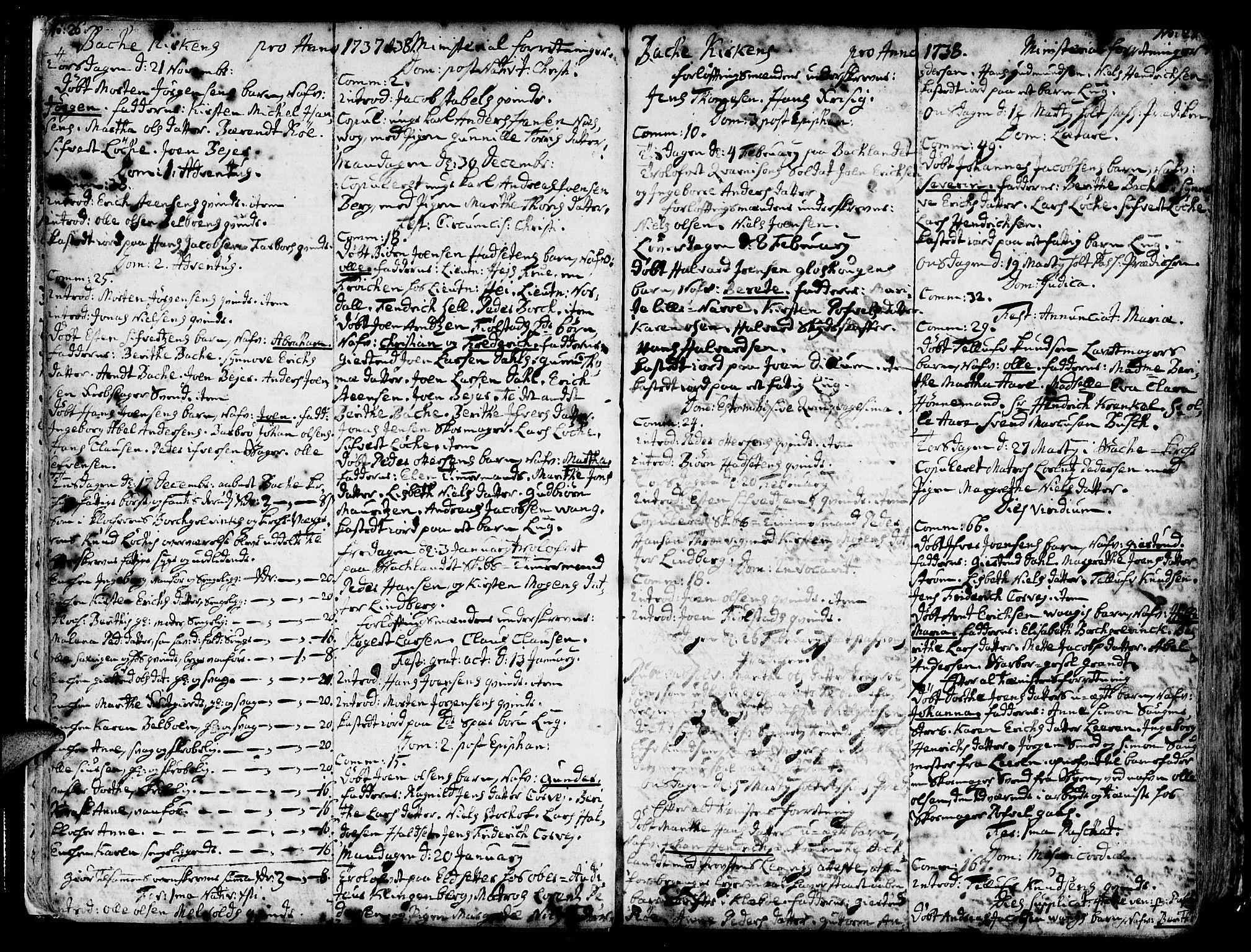 SAT, Ministerialprotokoller, klokkerbøker og fødselsregistre - Sør-Trøndelag, 606/L0276: Ministerialbok nr. 606A01 /2, 1727-1779, s. 26-27