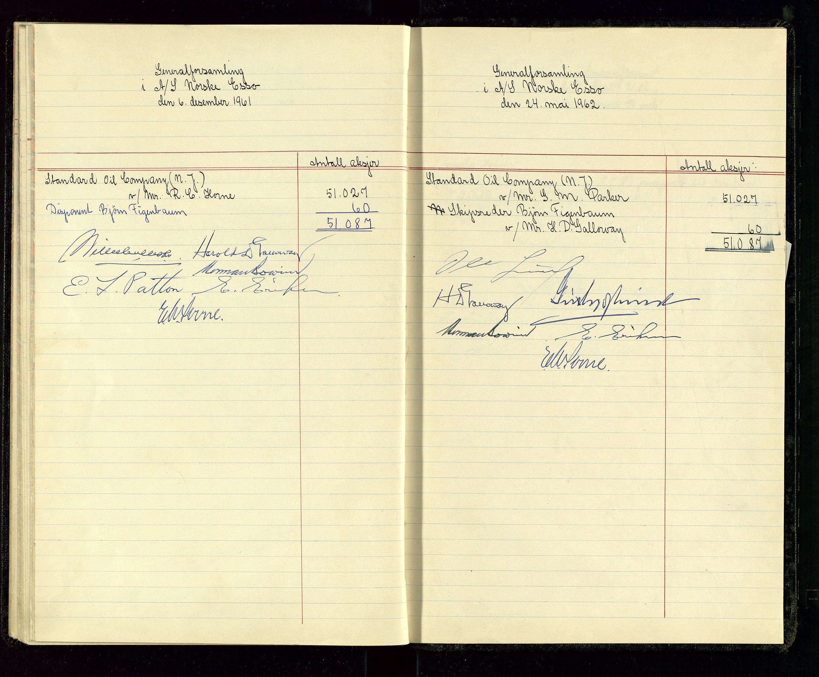 SAST, PA 1534 - Østlandske Petroleumscompagni A/S, A/Aa/L0001: Generalforsamlinger og direksjonsprotokoller., 1935-1963, s. 49