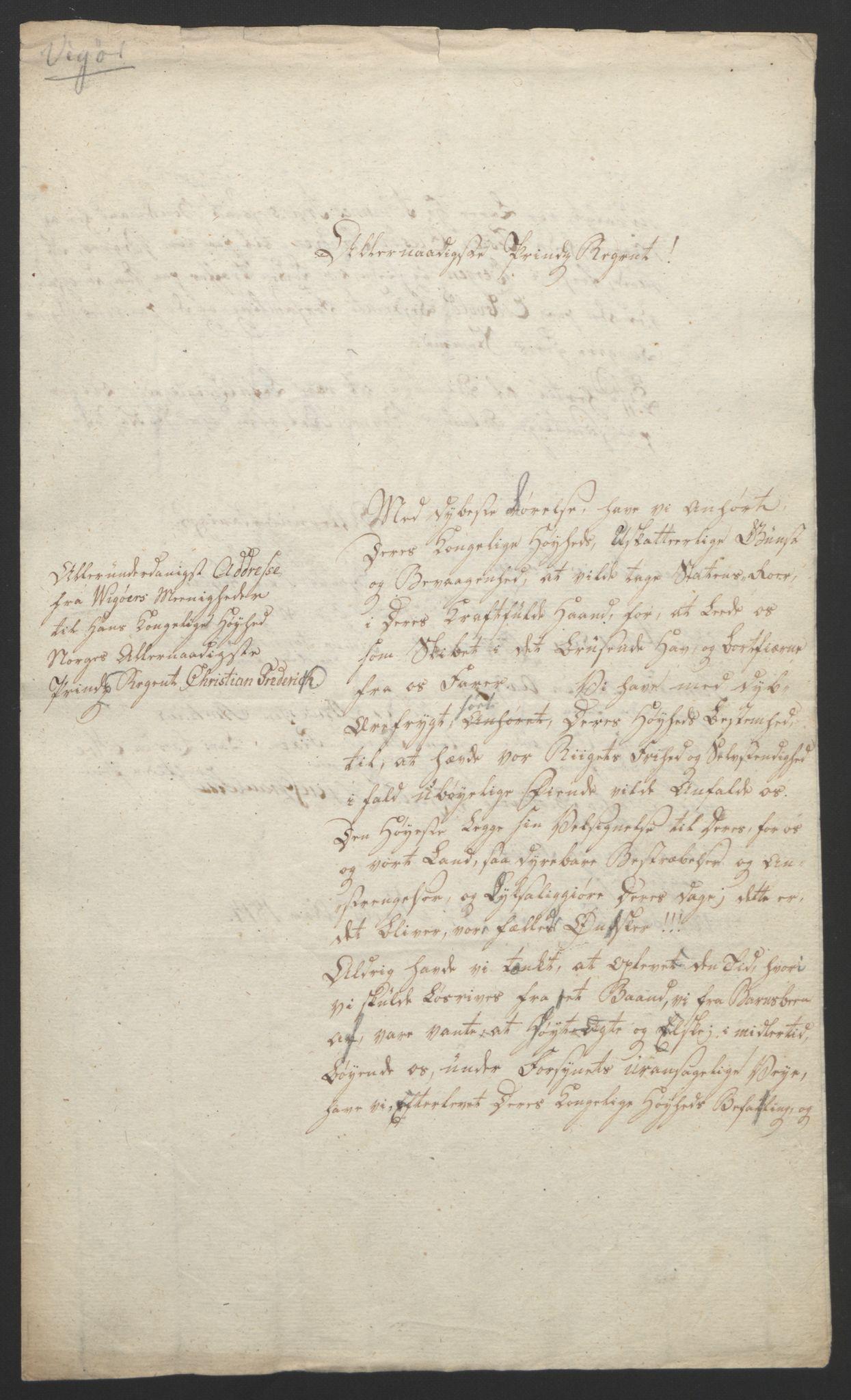 RA, Statsrådssekretariatet, D/Db/L0008: Fullmakter for Eidsvollsrepresentantene i 1814. , 1814, s. 303