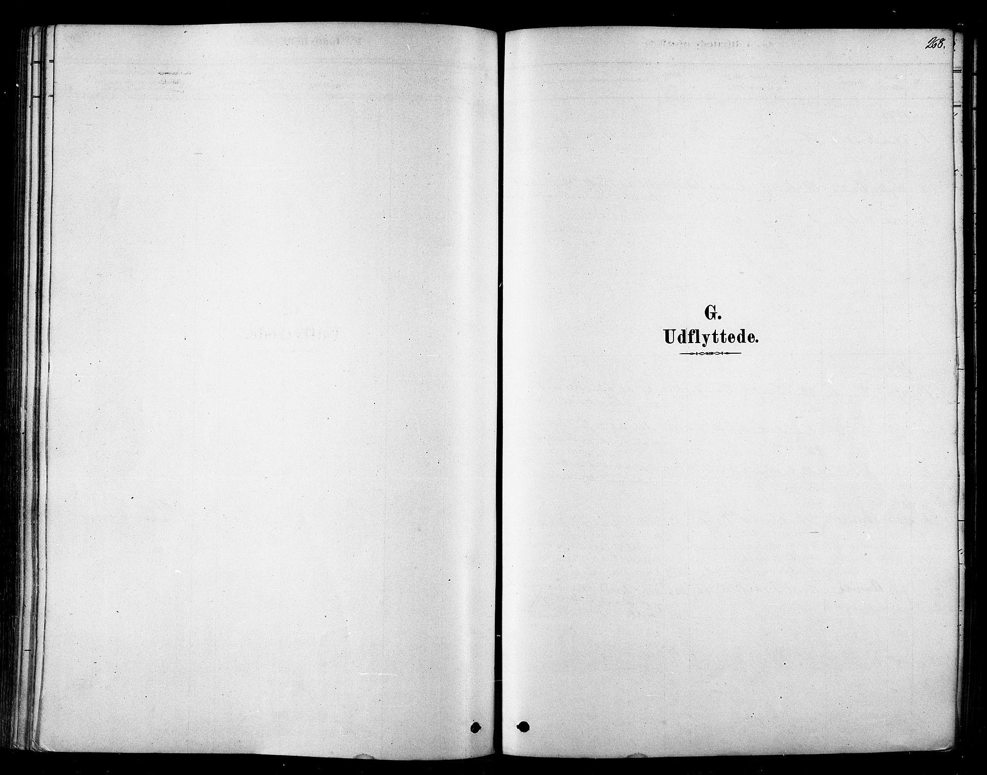 SATØ, Tana sokneprestkontor, H/Ha/L0004kirke: Ministerialbok nr. 4, 1878-1891, s. 268
