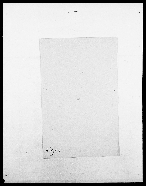 SAO, Delgobe, Charles Antoine - samling, D/Da/L0032: Rabakovsky - Rivertz, s. 826