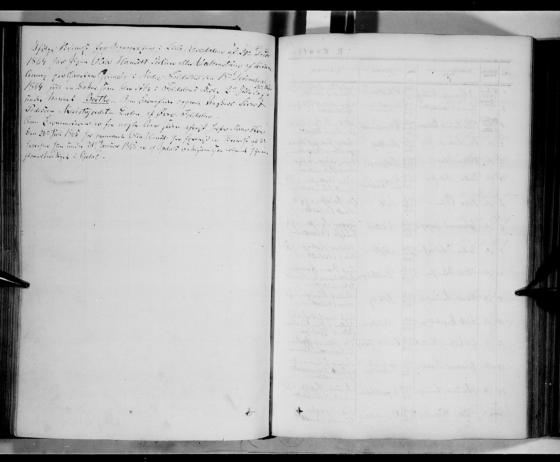 SAH, Nord-Fron prestekontor, Ministerialbok nr. 1, 1851-1864, s. 153b