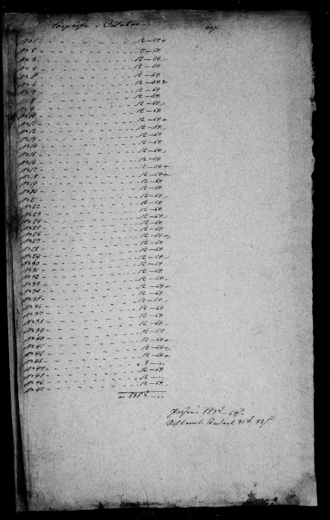 RA, Danske Kanselli, Skapsaker, F/L0052: Skap 13, pakke 2, 1809-1810, s. 227