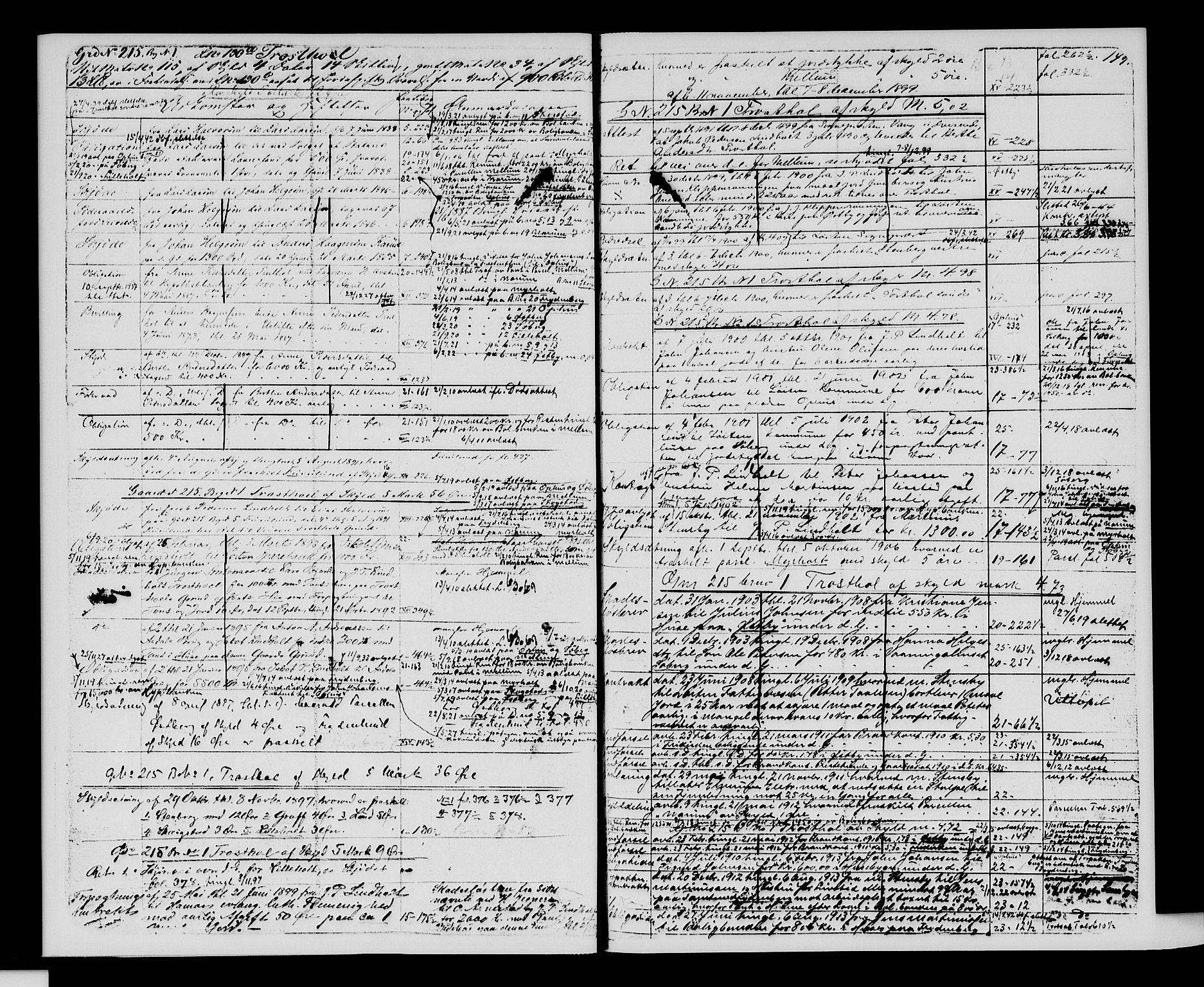 SAH, Sør-Hedmark sorenskriveri, H/Ha/Hac/Hacc/L0001: Panteregister nr. 3.1, 1855-1943, s. 149