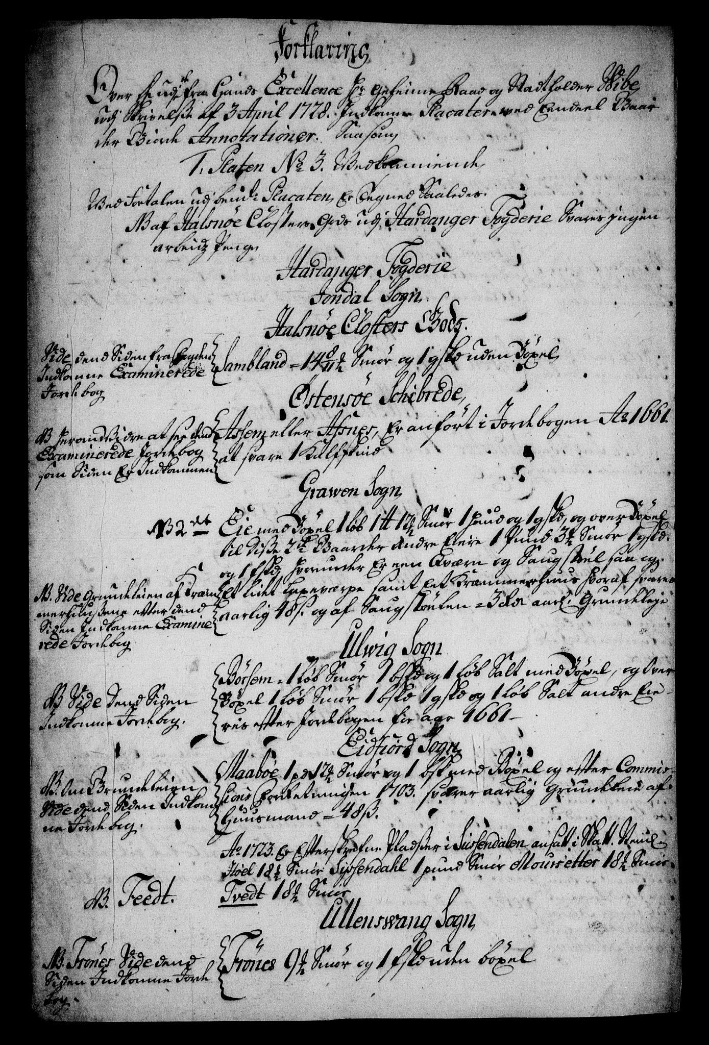 RA, Rentekammeret inntil 1814, Realistisk ordnet avdeling, On/L0005: [Jj 6]: Forskjellige dokumenter om Halsnøy klosters gods, 1697-1770, s. 519