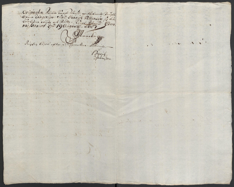 RA, Rentekammeret inntil 1814, Reviderte regnskaper, Fogderegnskap, R21/L1447: Fogderegnskap Ringerike og Hallingdal, 1687-1689, s. 121