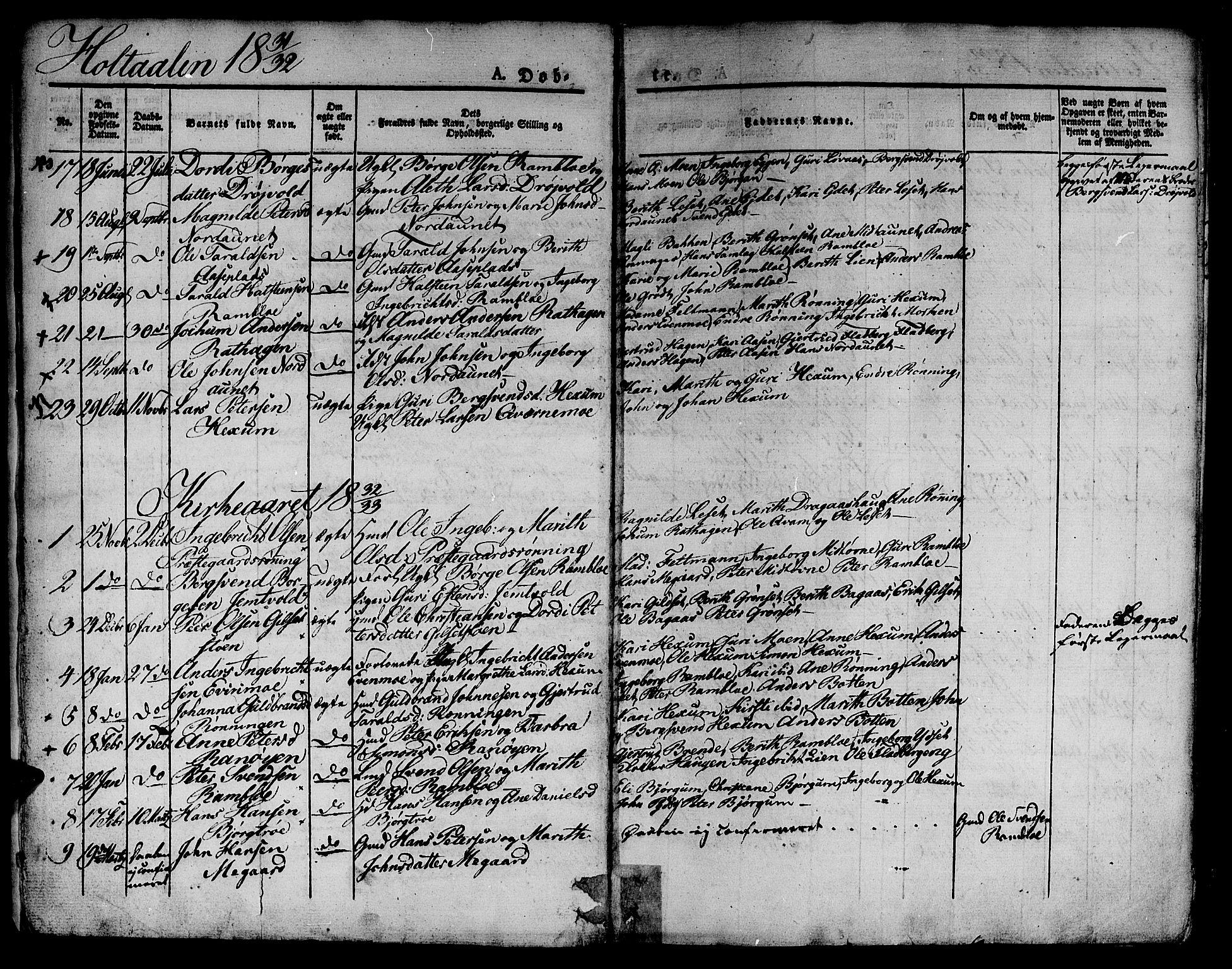 SAT, Ministerialprotokoller, klokkerbøker og fødselsregistre - Sør-Trøndelag, 685/L0957: Ministerialbok nr. 685A04 /1, 1829-1845