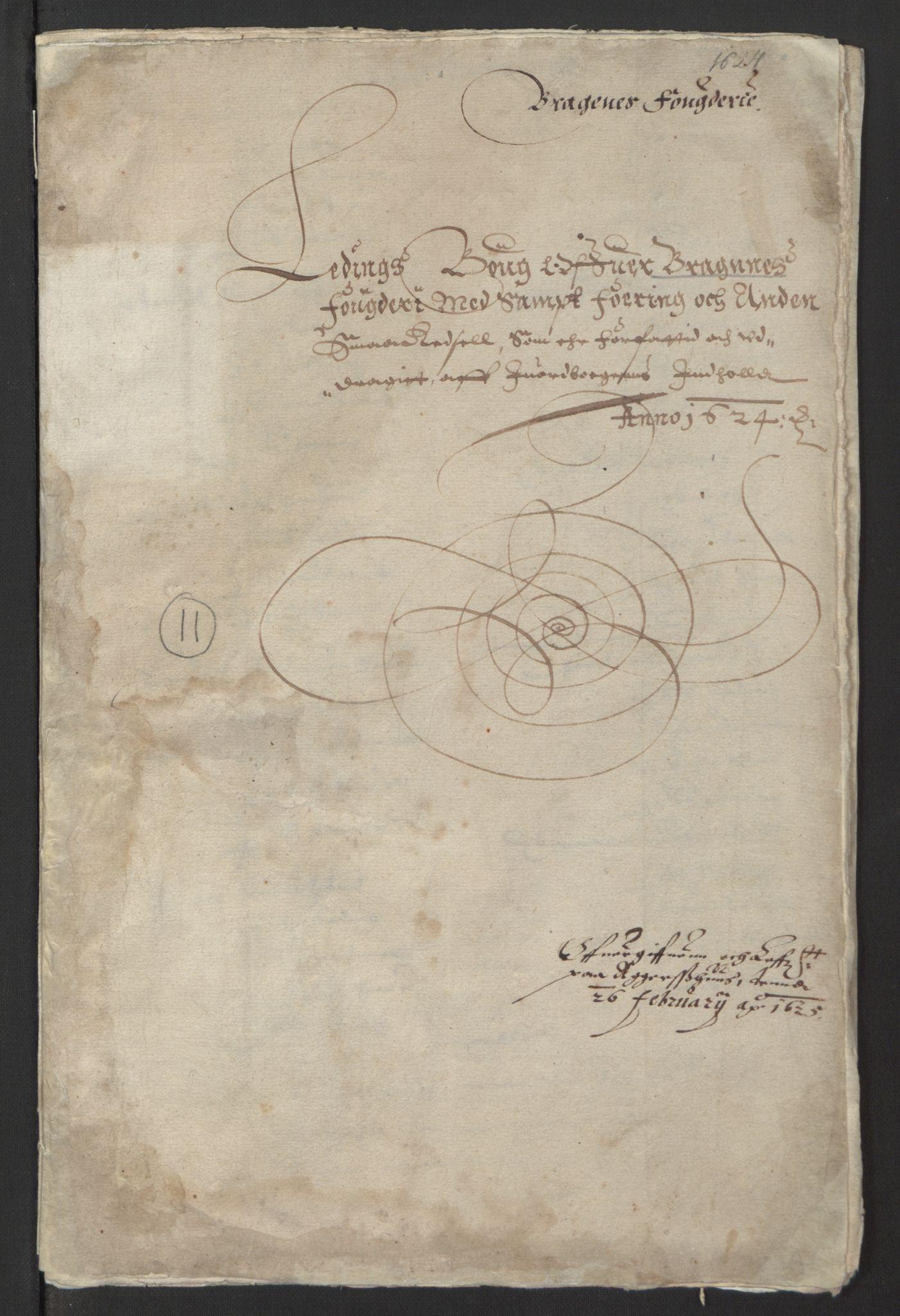 RA, Stattholderembetet 1572-1771, Ek/L0001: Jordebøker før 1624 og til utligning av garnisonsskatt 1624-1626:, 1624-1625, s. 253