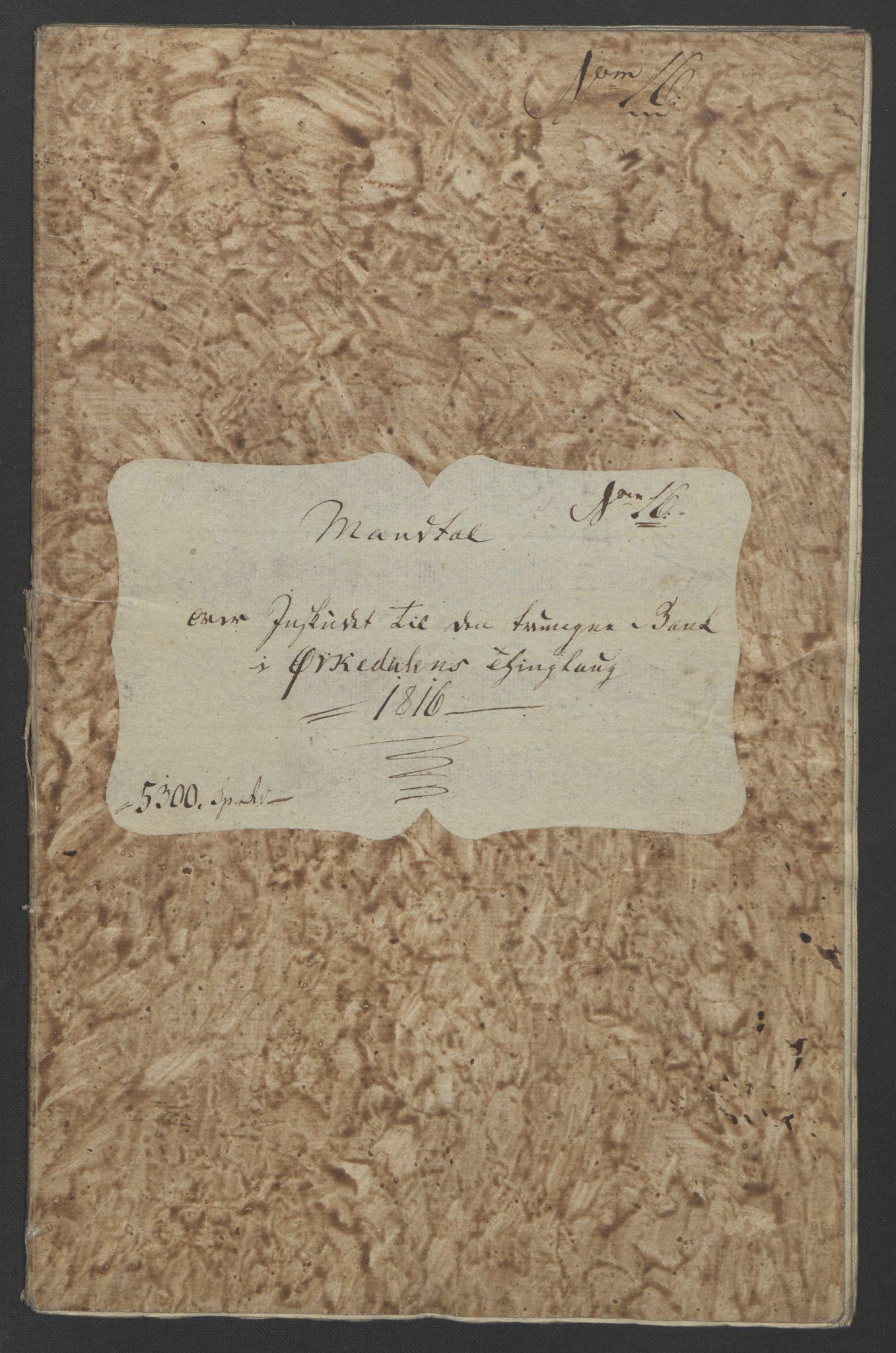 NOBA, Norges Bank/Sølvskatten 1816*, 1816-1821, s. 12