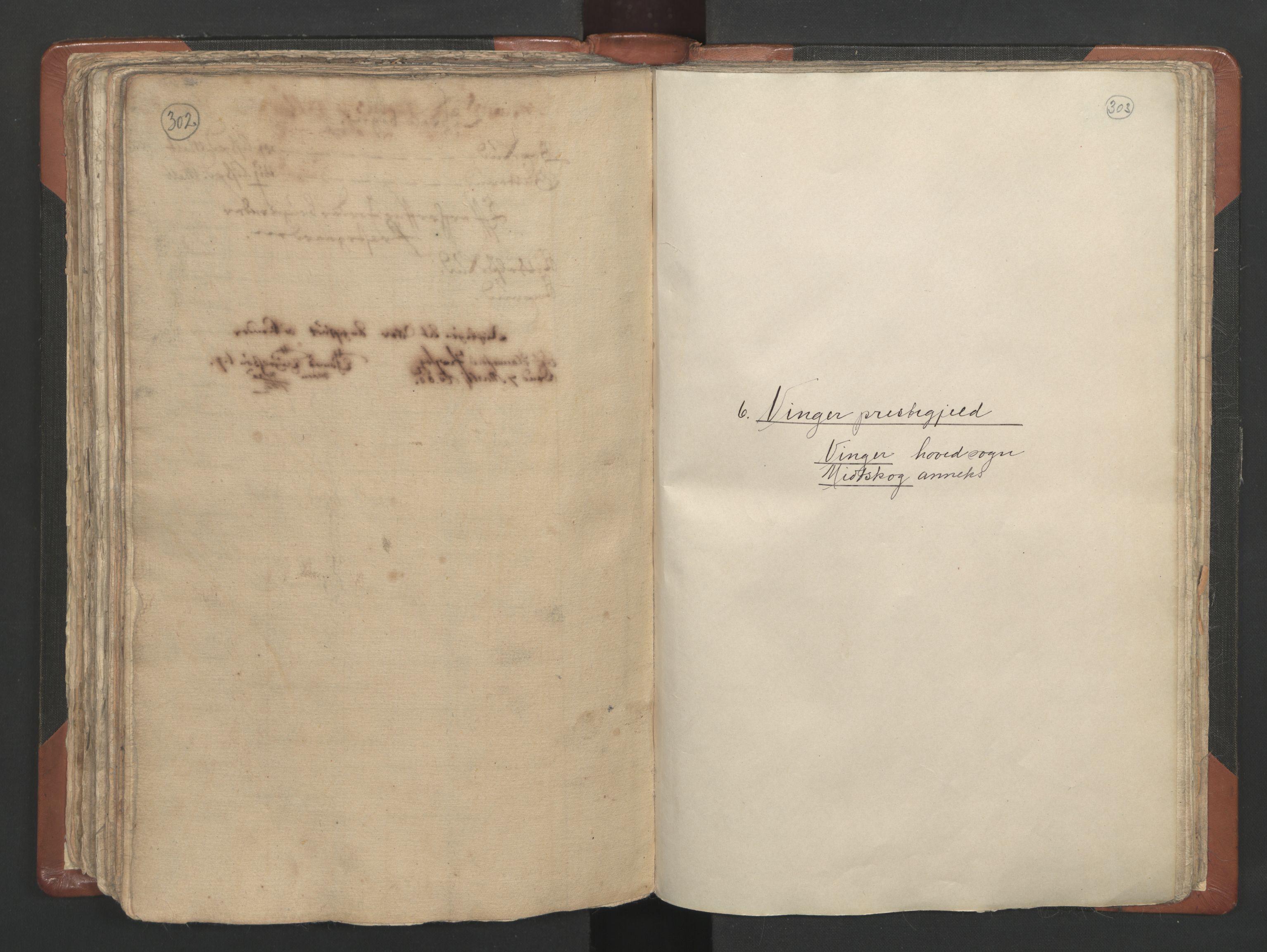 RA, Sogneprestenes manntall 1664-1666, nr. 4: Øvre Romerike prosti, 1664-1666, s. 302-303
