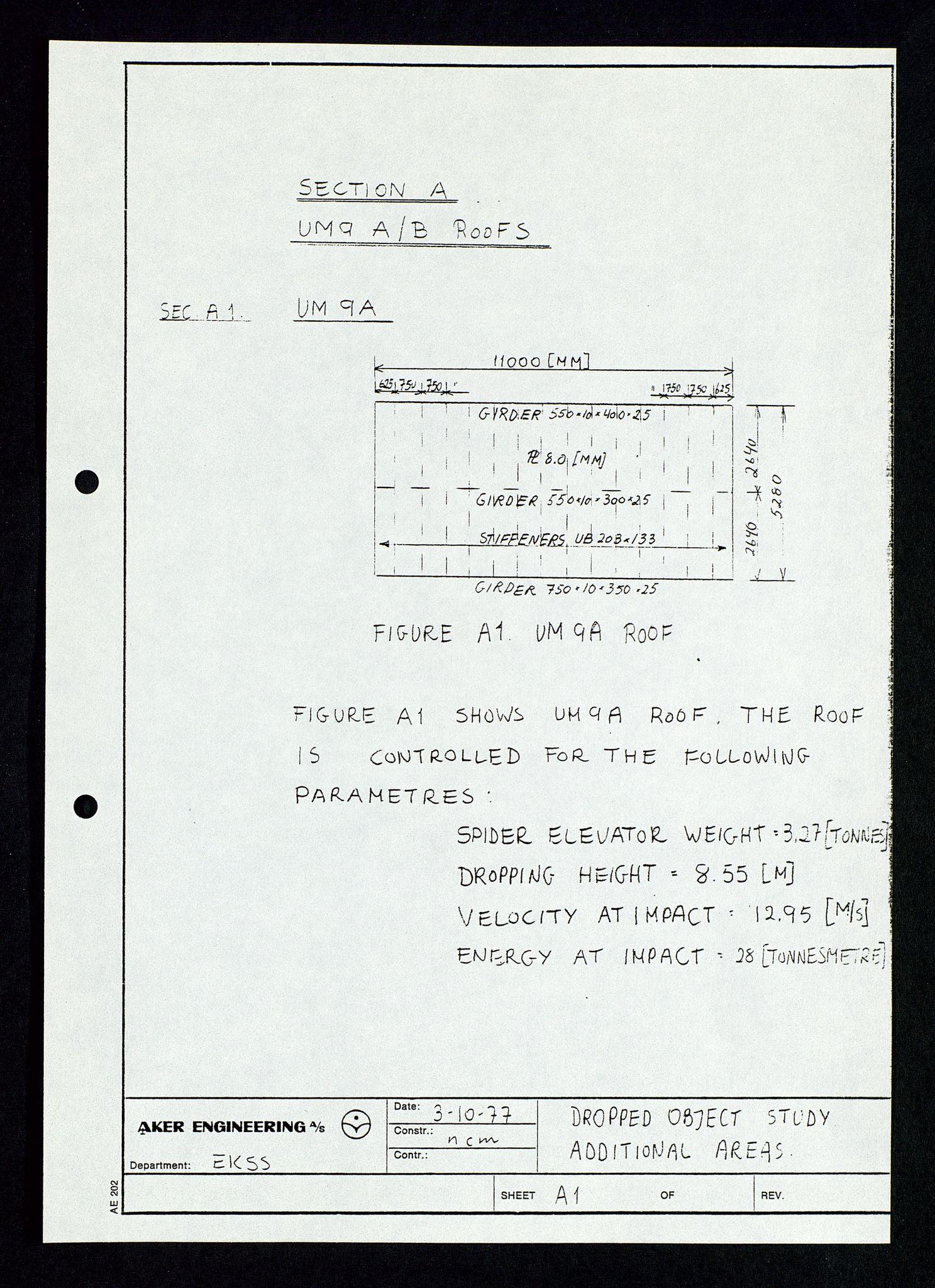 SAST, Pa 1339 - Statoil ASA, D/Dm/L0348: Gravitasjonsplattform betong, 1975-1978, s. 190