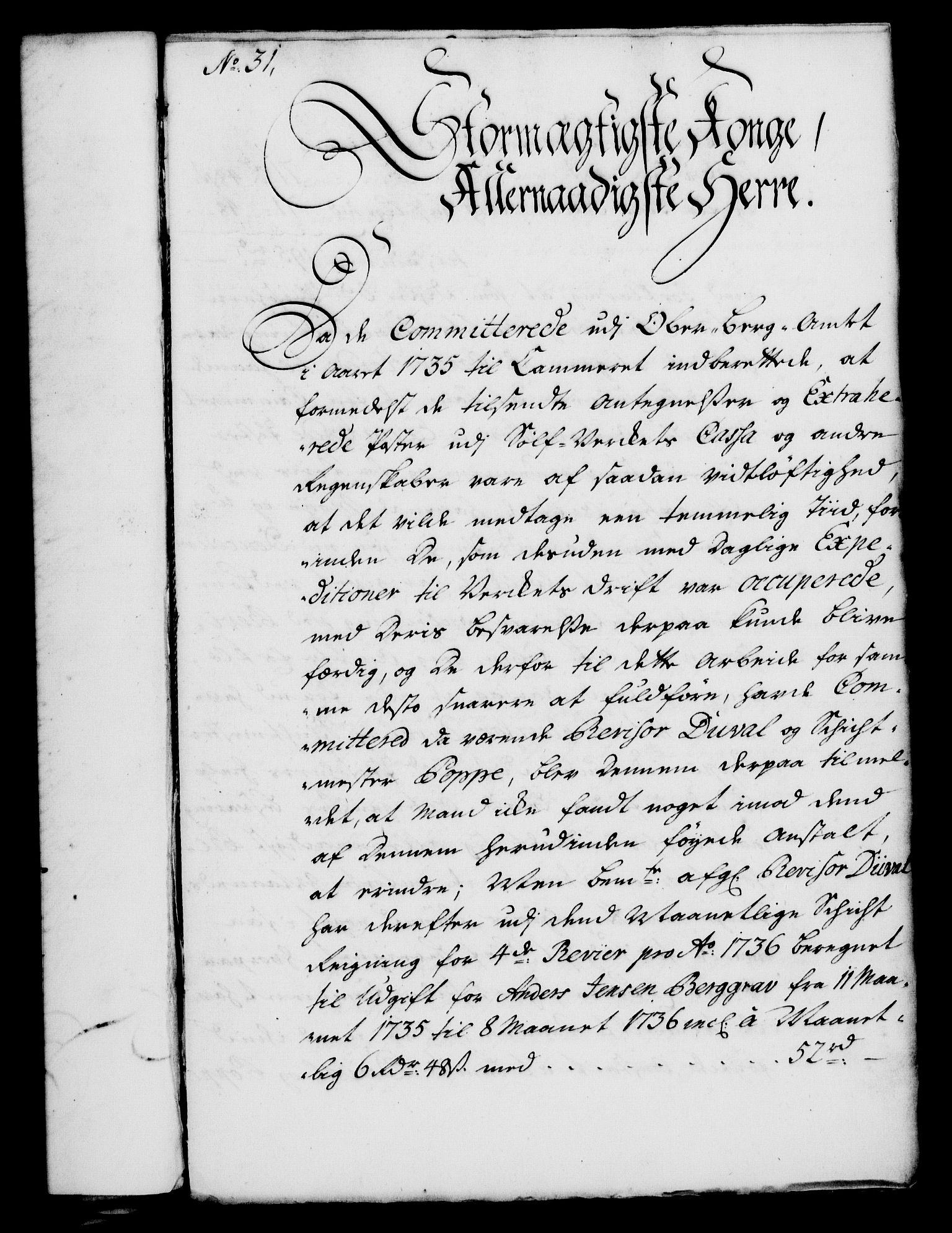 RA, Rentekammeret, Kammerkanselliet, G/Gf/Gfa/L0026: Norsk relasjons- og resolusjonsprotokoll (merket RK 52.26), 1743, s. 241