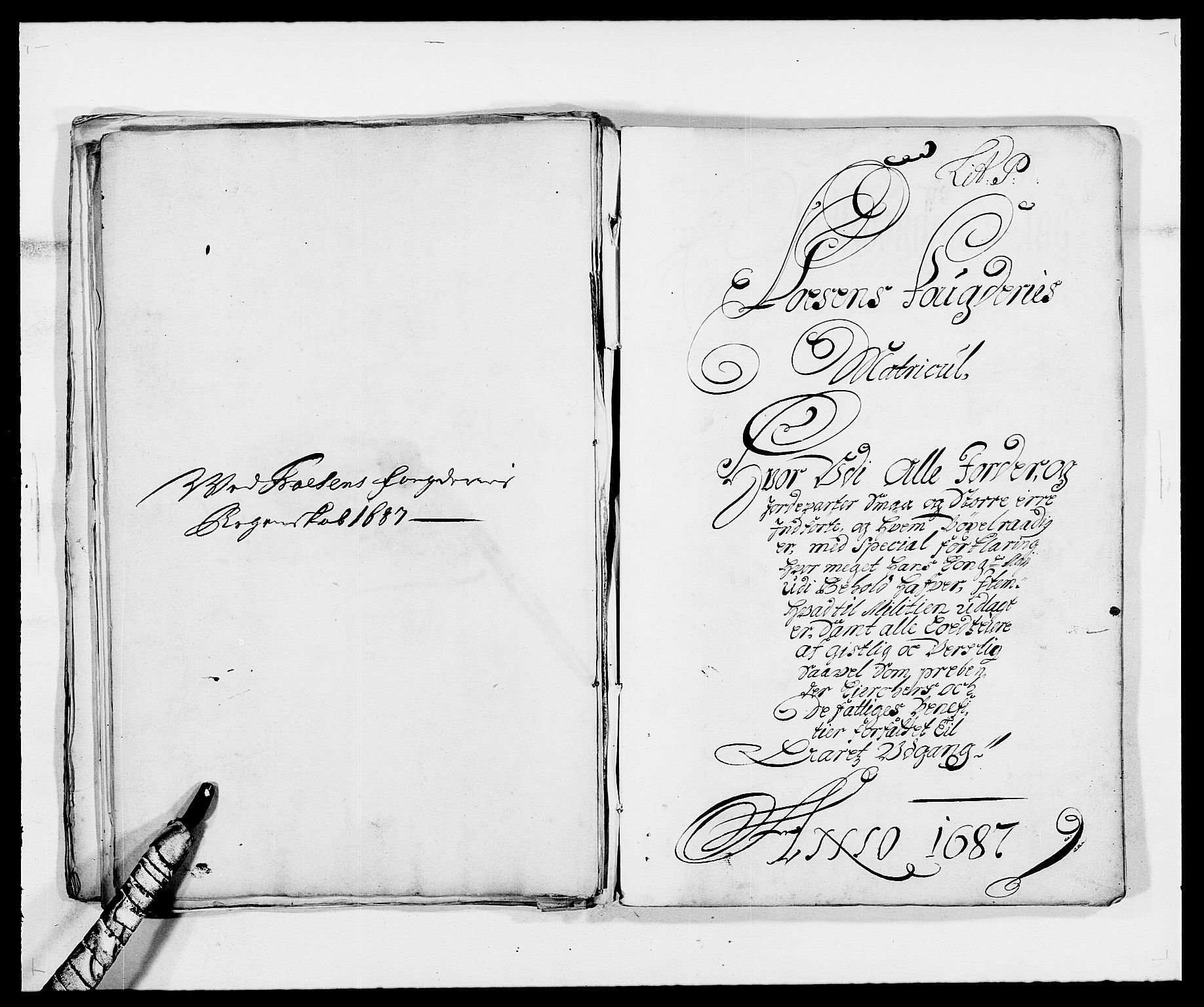 RA, Rentekammeret inntil 1814, Reviderte regnskaper, Fogderegnskap, R57/L3845: Fogderegnskap Fosen, 1687, s. 142