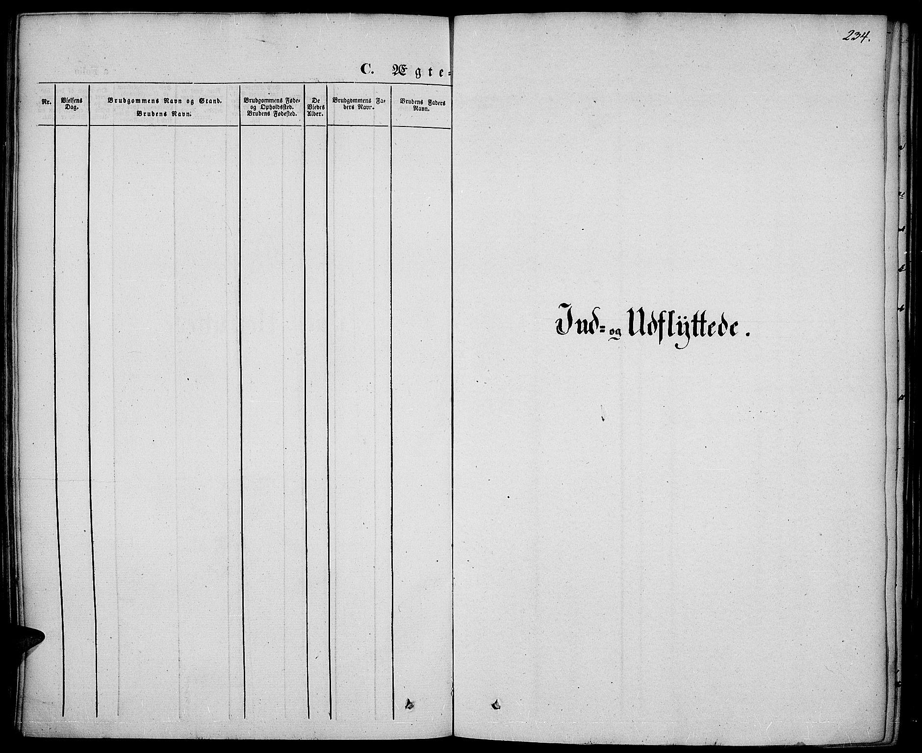 SAH, Vestre Toten prestekontor, Ministerialbok nr. 4, 1844-1849, s. 234