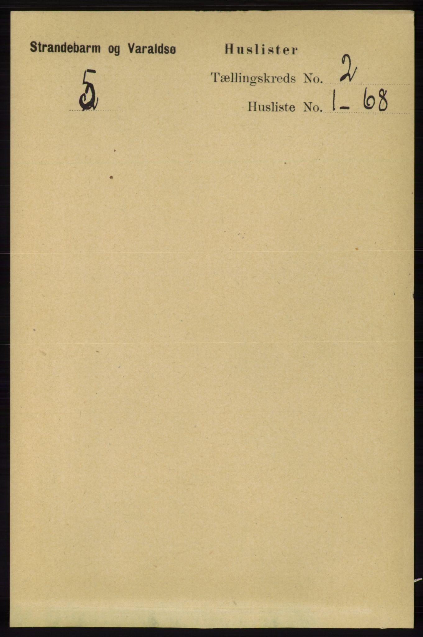 RA, Folketelling 1891 for 1226 Strandebarm og Varaldsøy herred, 1891, s. 508
