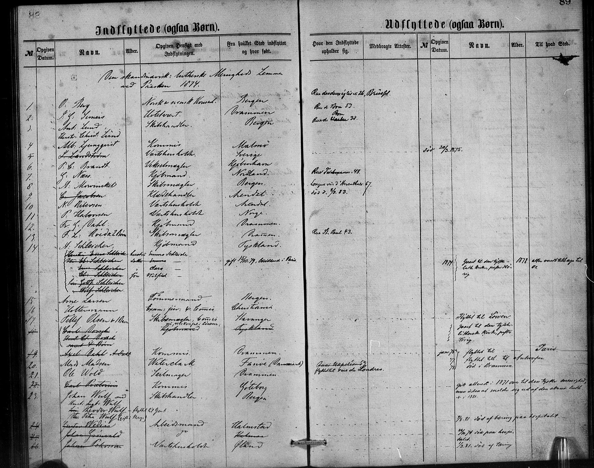 SAB, Den Norske Sjømannsmisjon i utlandet*, Ministerialbok nr. A 1, 1865-1887, s. 89