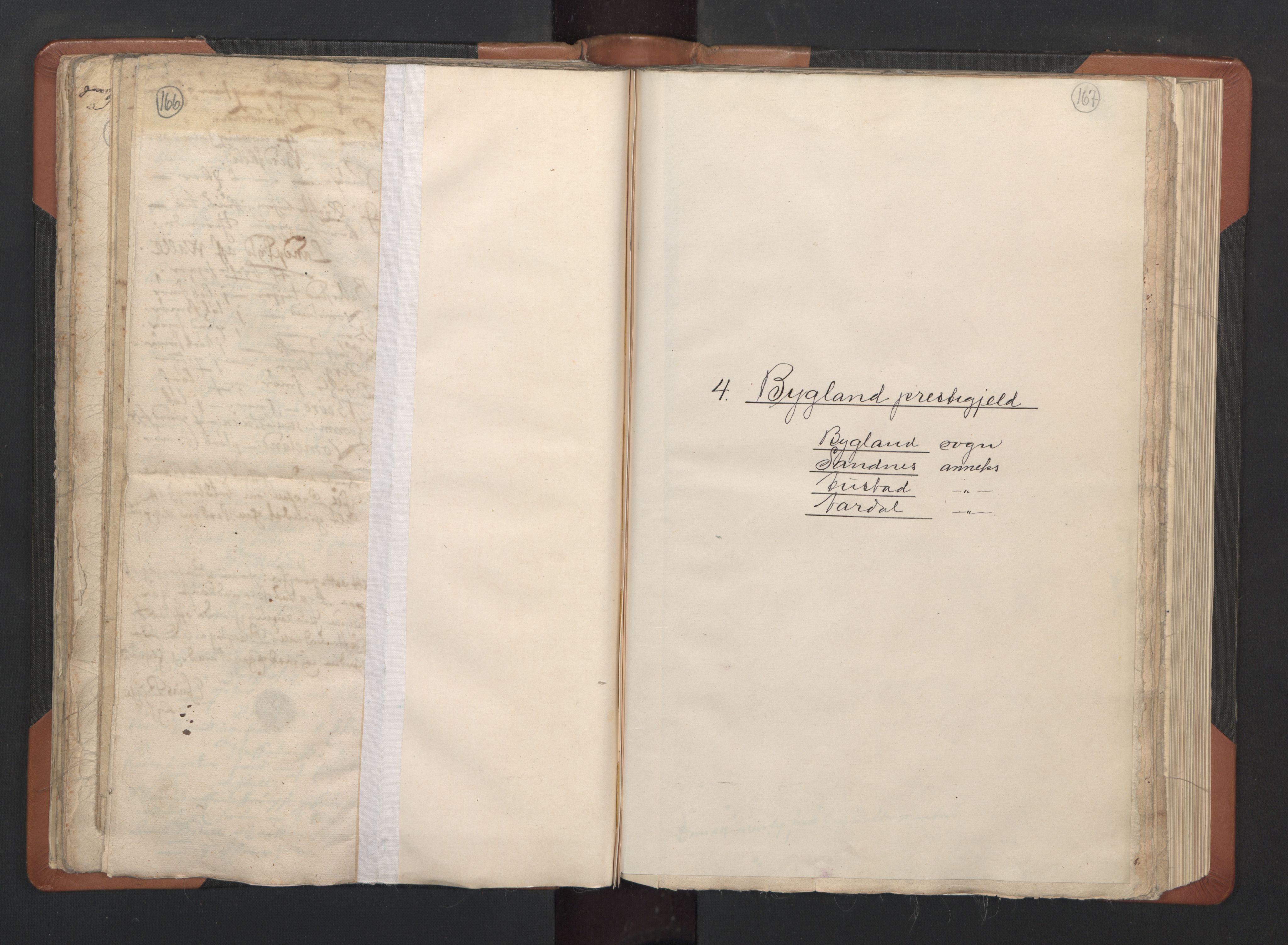 RA, Sogneprestenes manntall 1664-1666, nr. 14: Råbyggelag prosti, 1664-1666, s. 166-167
