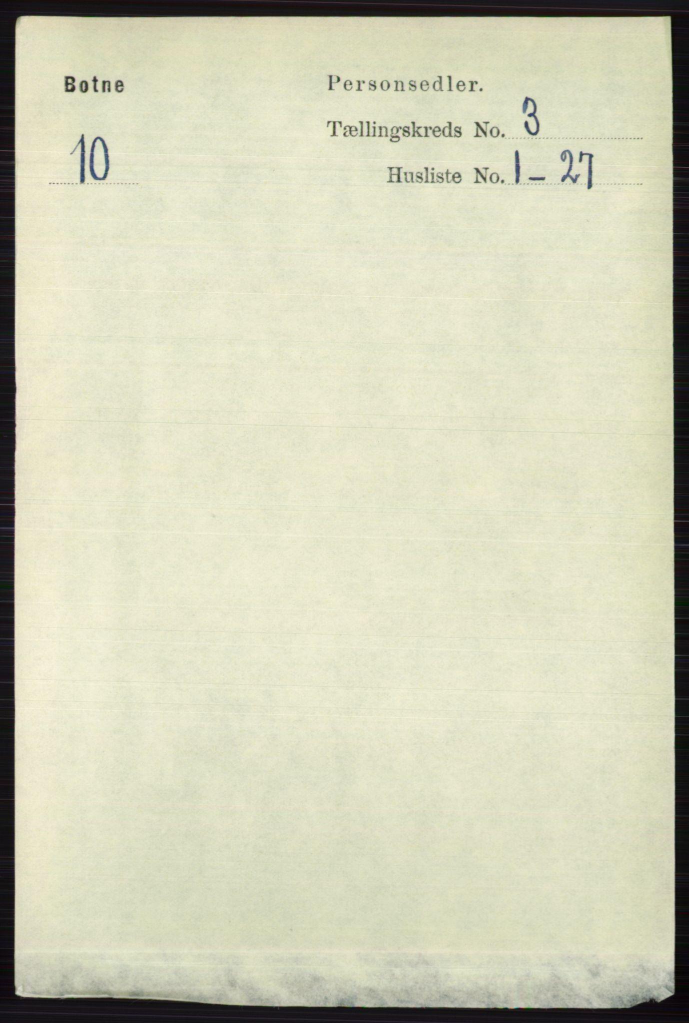 RA, Folketelling 1891 for 0715 Botne herred, 1891, s. 1217