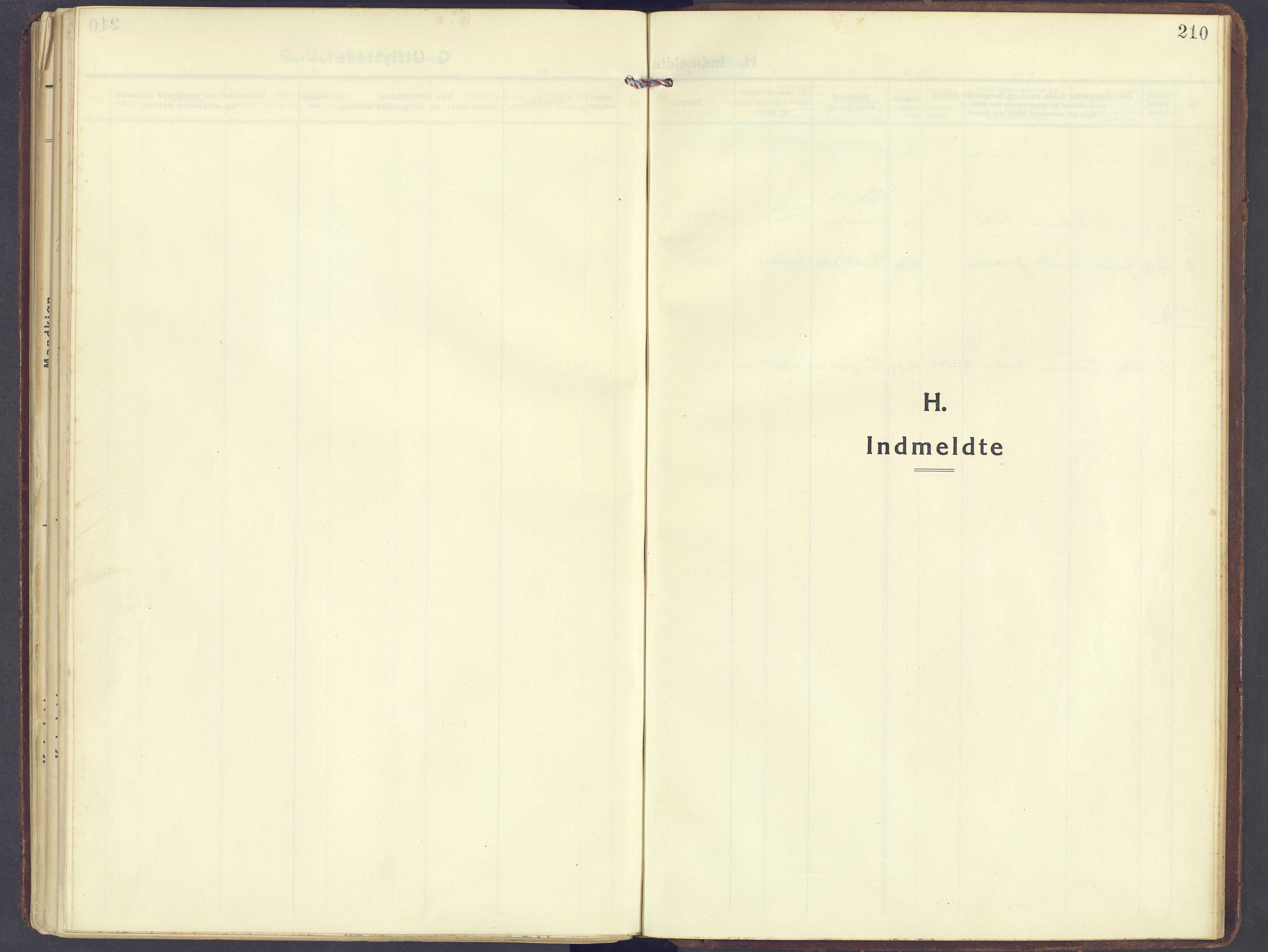SAH, Sør-Fron prestekontor, H/Ha/Haa/L0005: Ministerialbok nr. 5, 1920-1933, s. 210