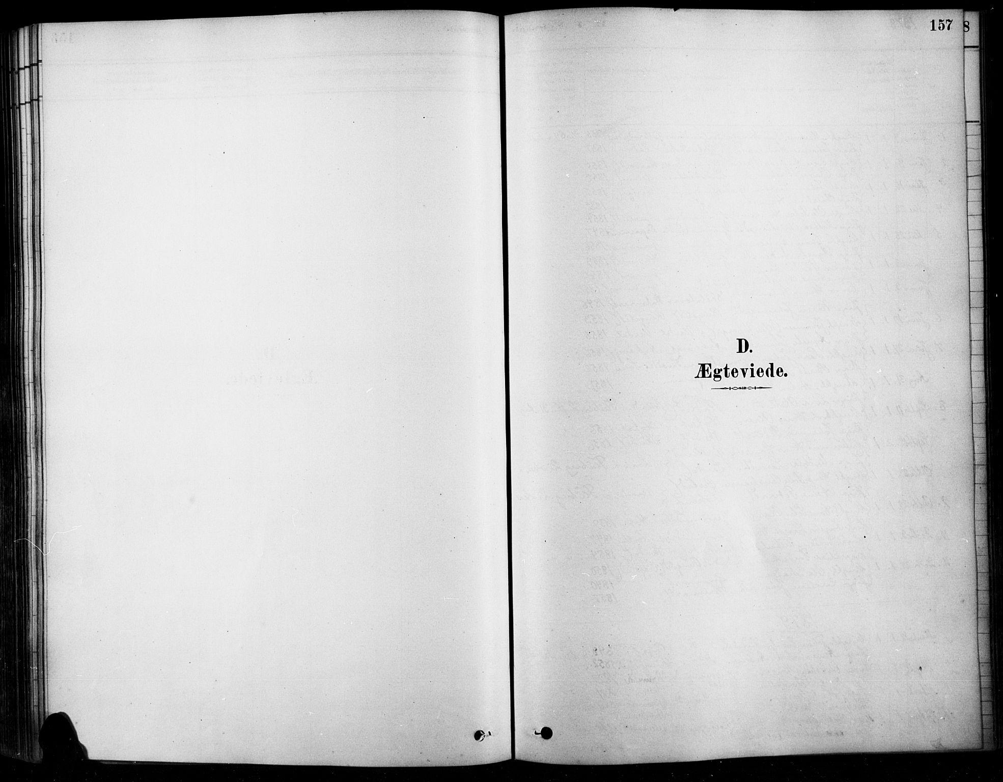 SAH, Søndre Land prestekontor, K/L0003: Ministerialbok nr. 3, 1878-1894, s. 157