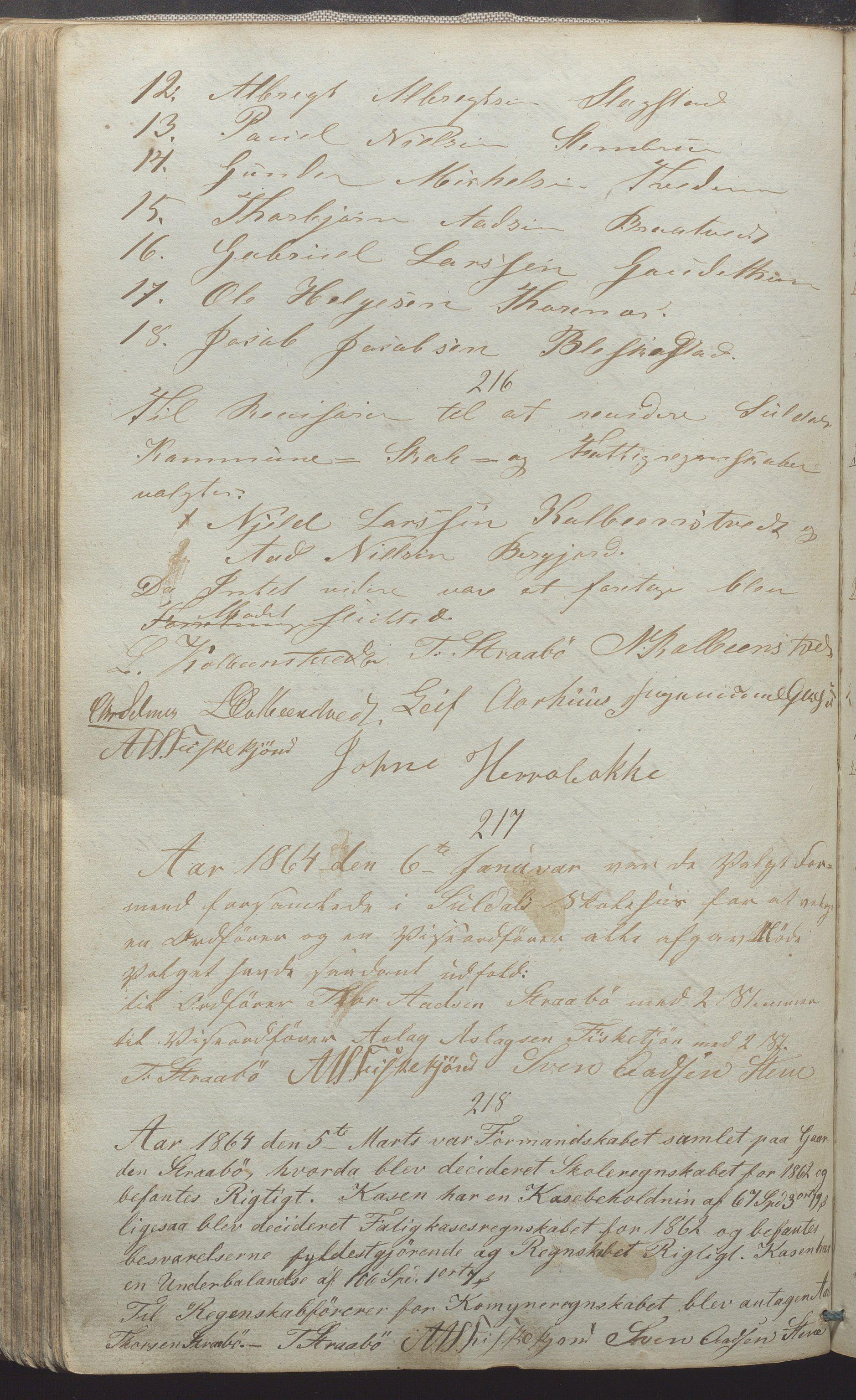 IKAR, Suldal kommune - Formannskapet/Rådmannen, A/Aa/L0001: Møtebok, 1837-1876, s. 148b