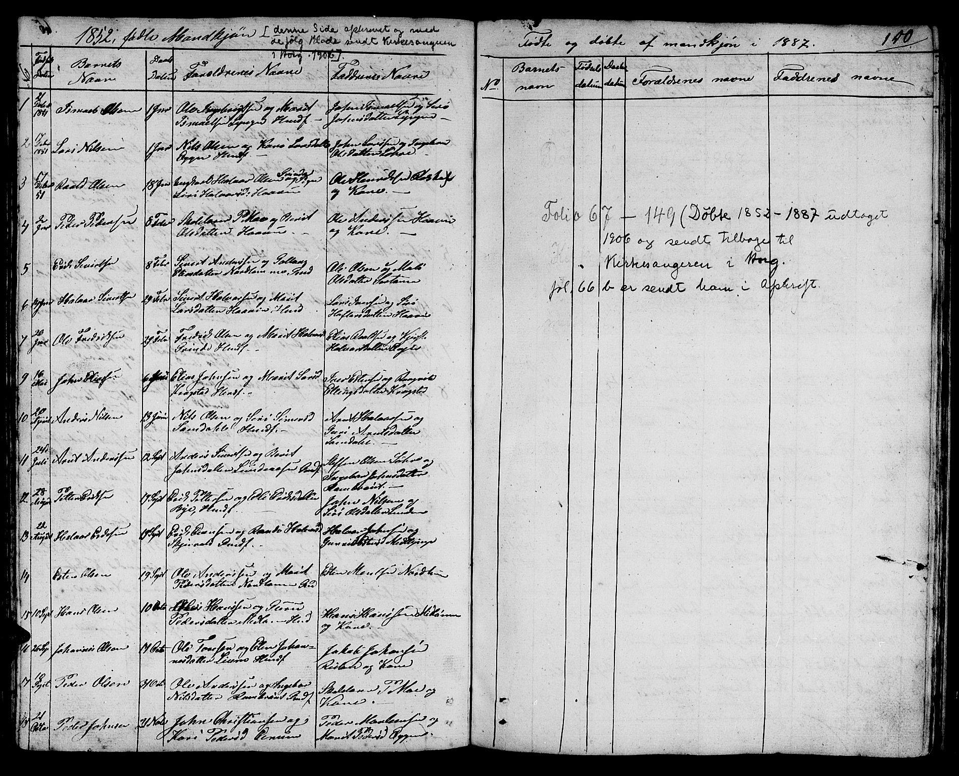 SAT, Ministerialprotokoller, klokkerbøker og fødselsregistre - Sør-Trøndelag, 692/L1108: Klokkerbok nr. 692C03, 1816-1833, s. 150