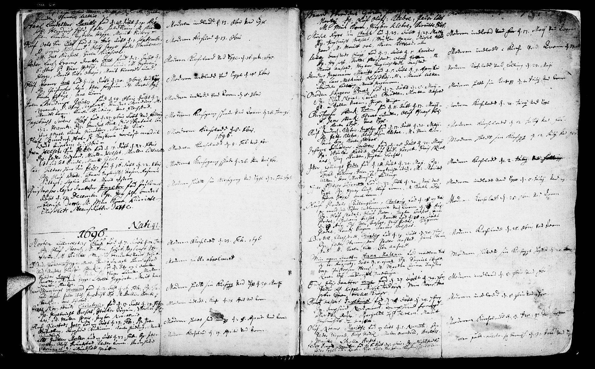SAT, Ministerialprotokoller, klokkerbøker og fødselsregistre - Nord-Trøndelag, 746/L0439: Ministerialbok nr. 746A01, 1688-1759, s. 11