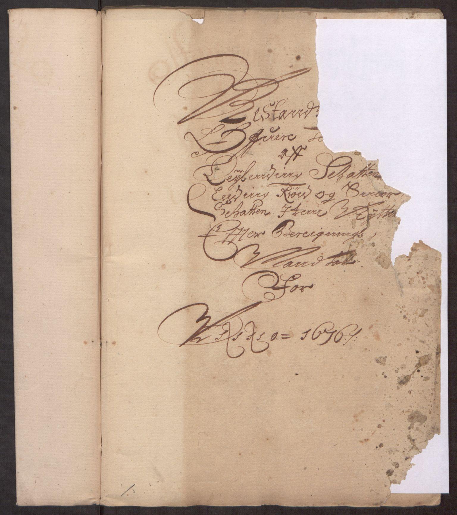 RA, Rentekammeret inntil 1814, Reviderte regnskaper, Fogderegnskap, R35/L2065: Fogderegnskap Øvre og Nedre Telemark, 1676, s. 260