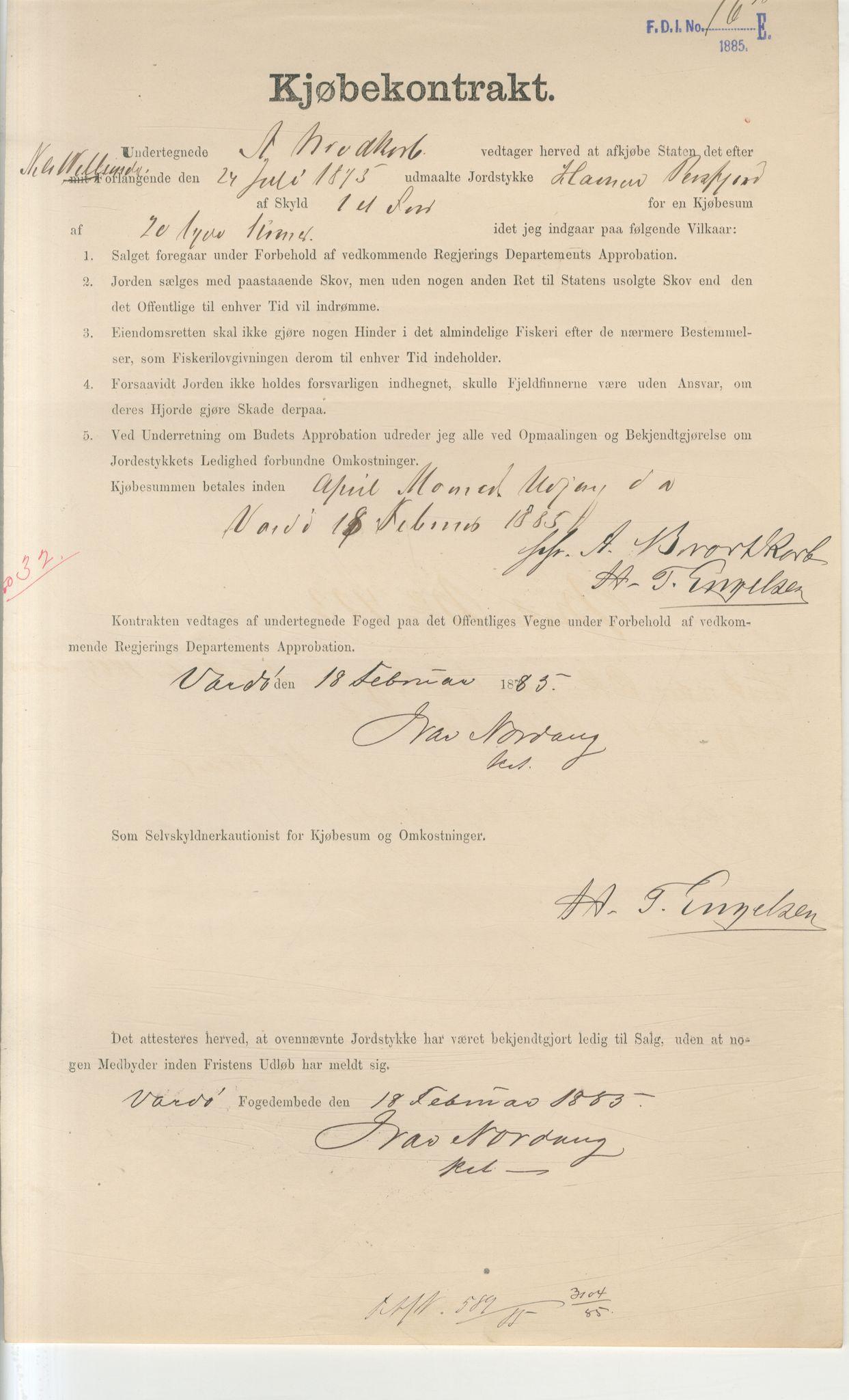 VAMU, Brodtkorb handel A/S, Q/Qb/L0003: Faste eiendommer i Vardø Herred, 1862-1939, s. 128