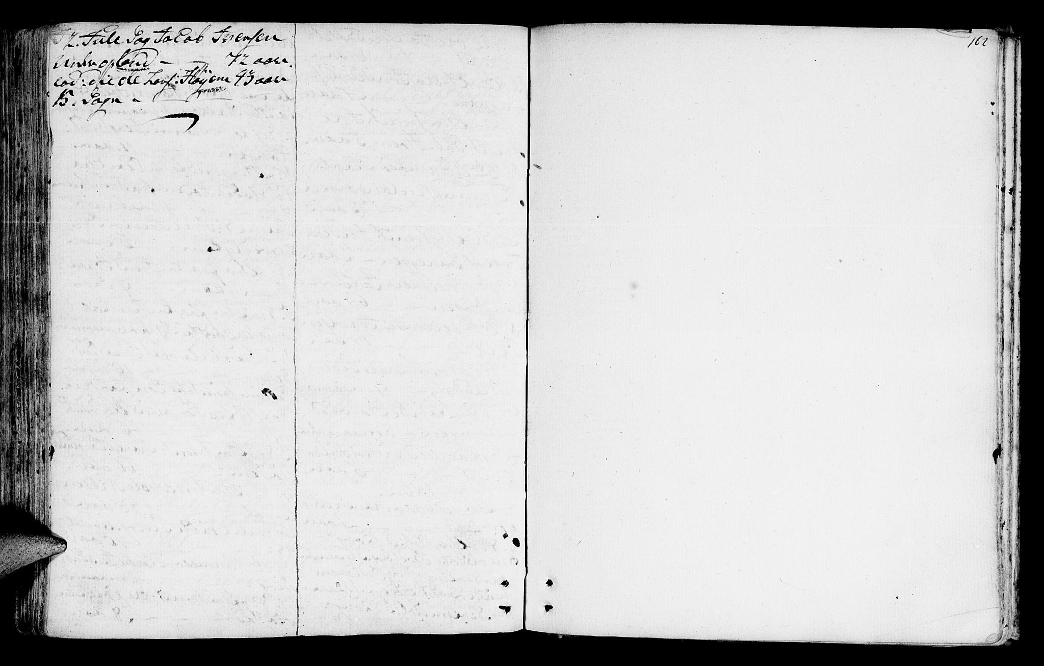 SAT, Ministerialprotokoller, klokkerbøker og fødselsregistre - Sør-Trøndelag, 612/L0370: Ministerialbok nr. 612A04, 1754-1802, s. 162