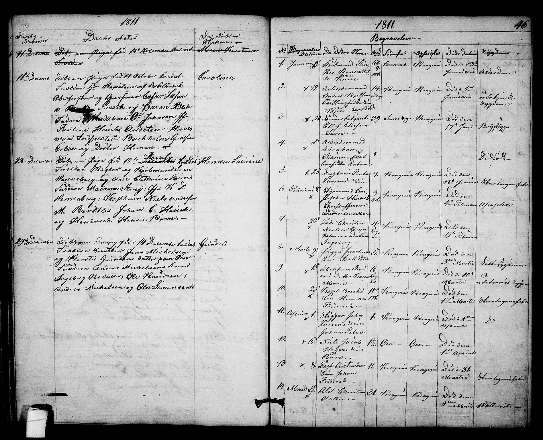 SAKO, Kragerø kirkebøker, F/Fa/L0003: Ministerialbok nr. 3, 1802-1813, s. 46
