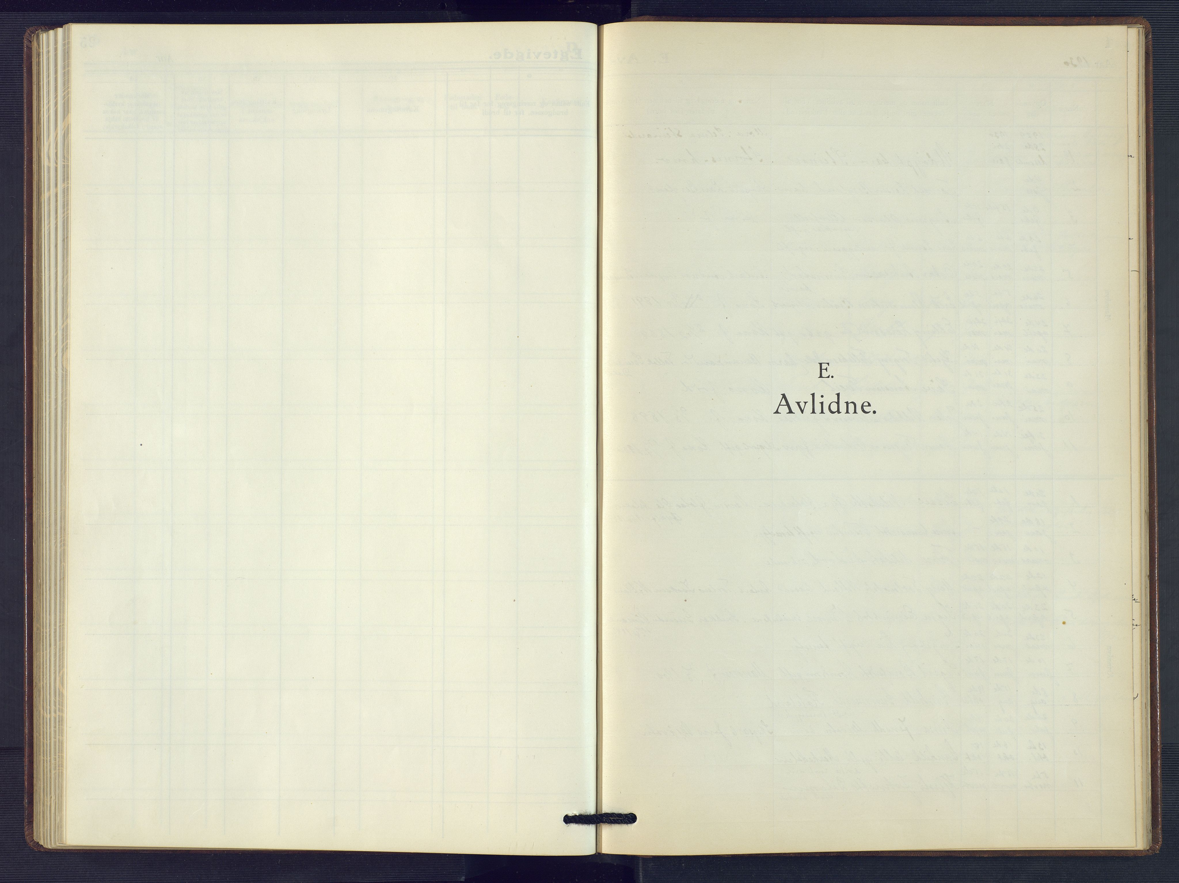 SAK, Åmli sokneprestkontor, F/Fb/Fbc/L0007: Klokkerbok nr. B 7, 1929-1960