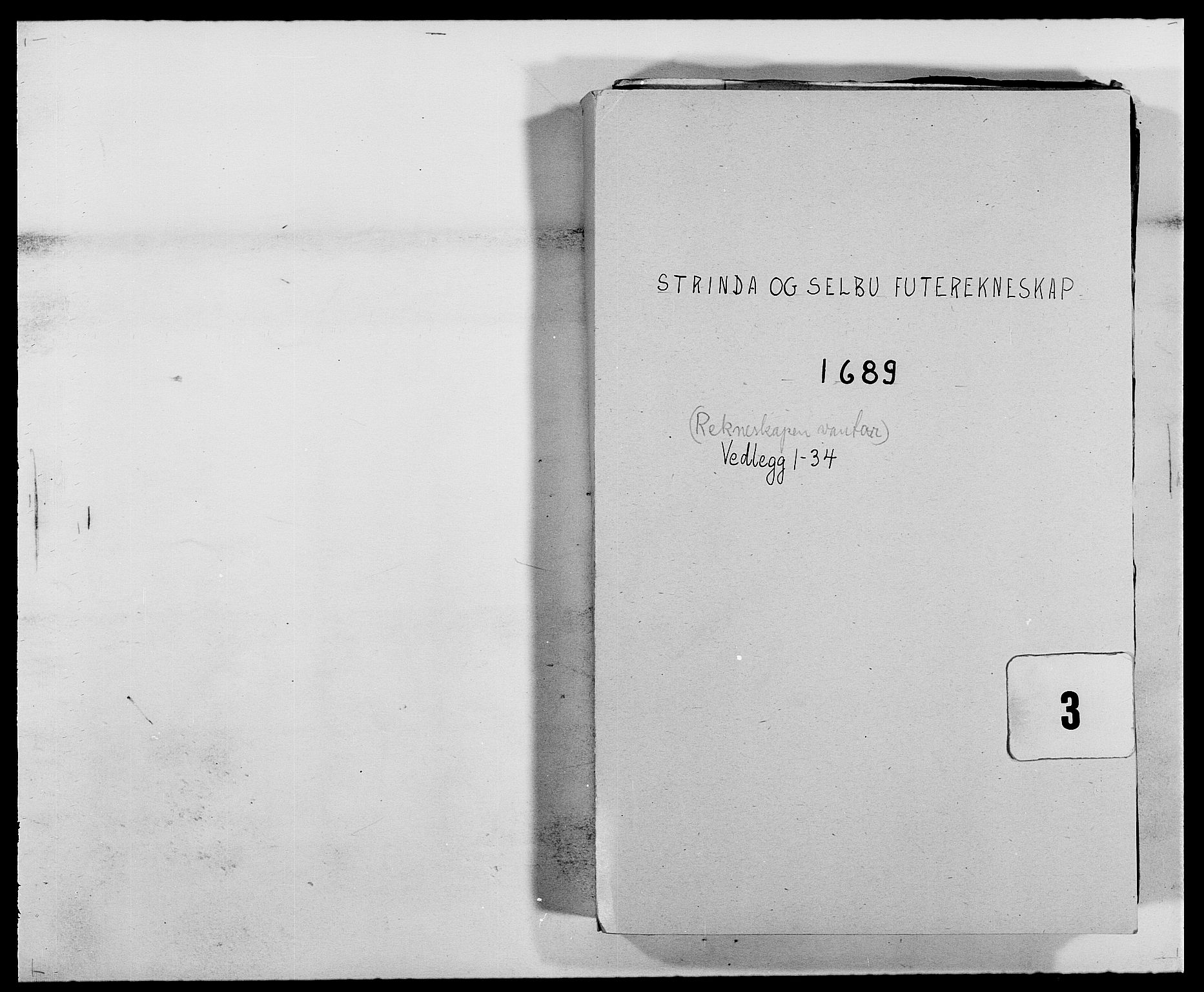 RA, Rentekammeret inntil 1814, Reviderte regnskaper, Fogderegnskap, R61/L4102: Fogderegnskap Strinda og Selbu, 1689-1690, s. 1