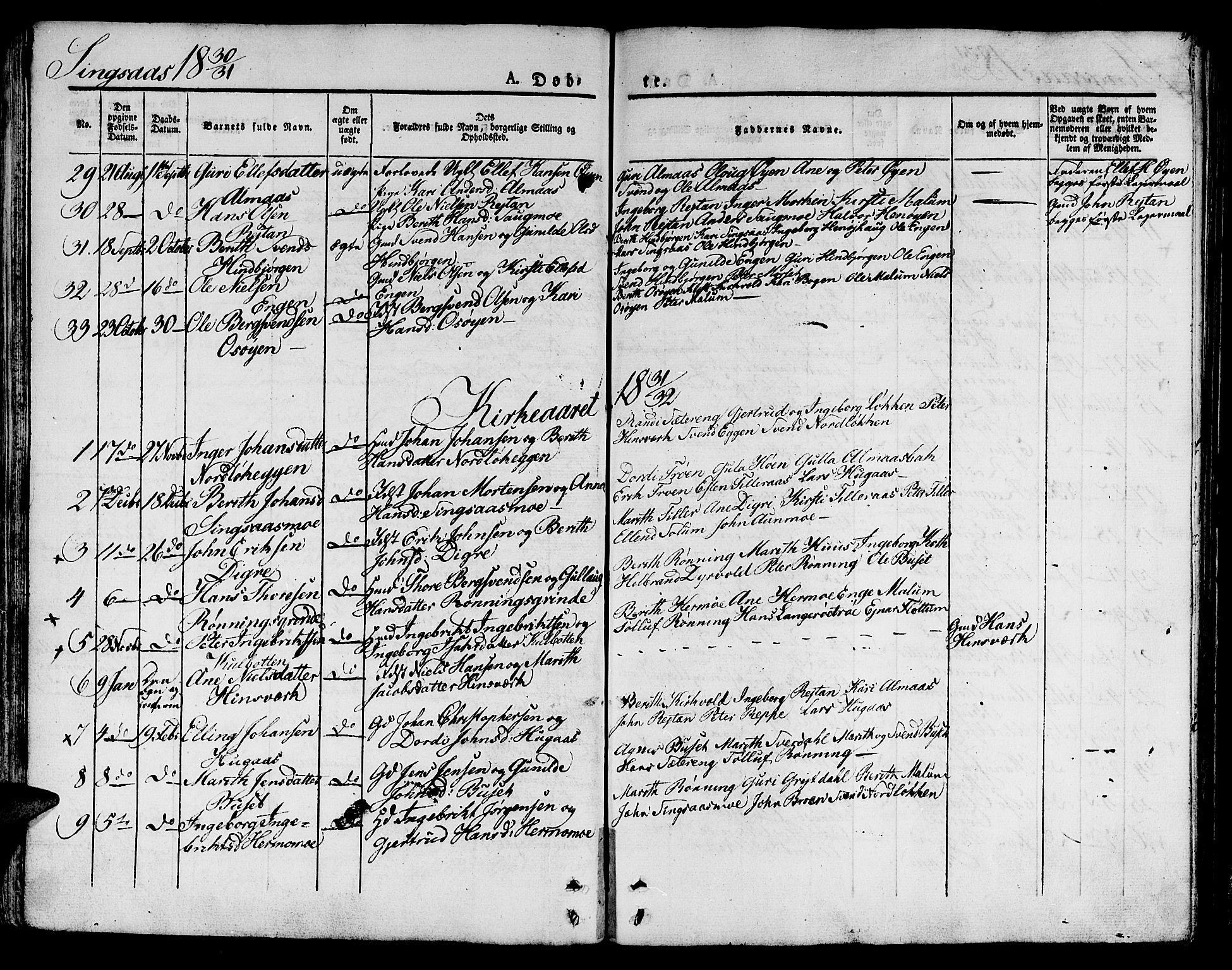 SAT, Ministerialprotokoller, klokkerbøker og fødselsregistre - Sør-Trøndelag, 685/L0958: Ministerialbok nr. 685A04 /2, 1829-1845, s. 35