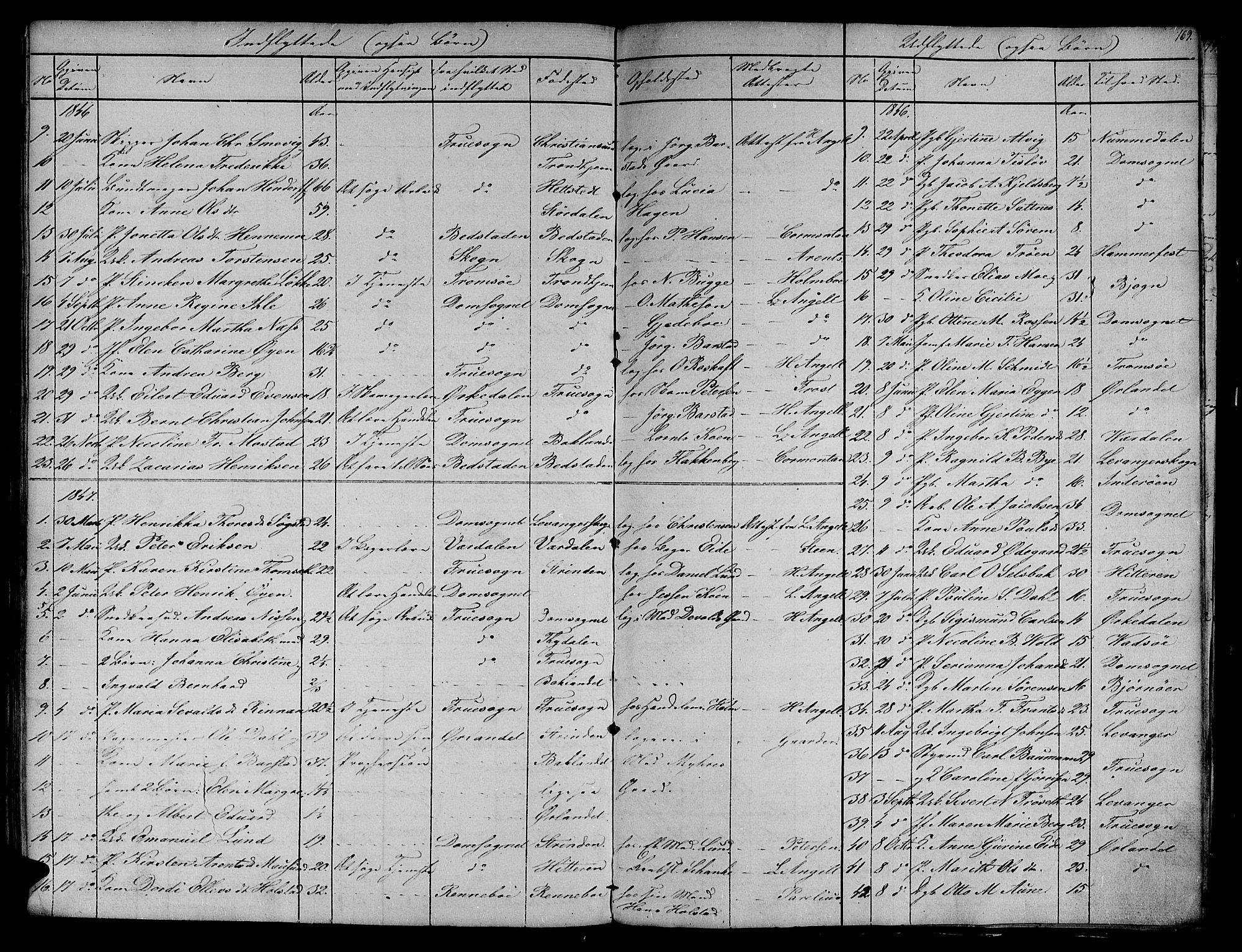 SAT, Ministerialprotokoller, klokkerbøker og fødselsregistre - Sør-Trøndelag, 604/L0182: Ministerialbok nr. 604A03, 1818-1850, s. 169