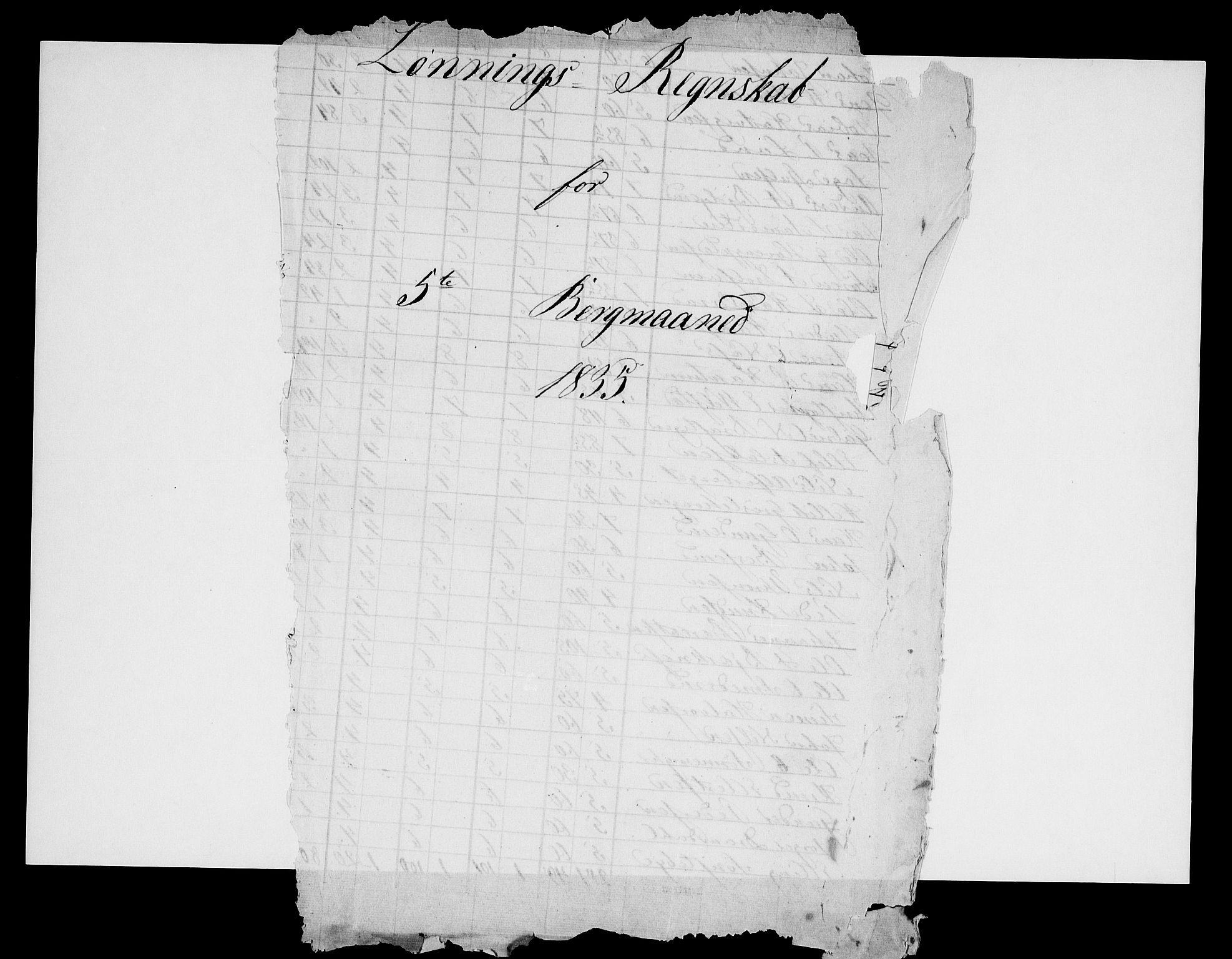 RA, Modums Blaafarveværk, G/Gd/Gdb/L0211: Rester av regnskapsprotokoller, 1825-1836, s. 2