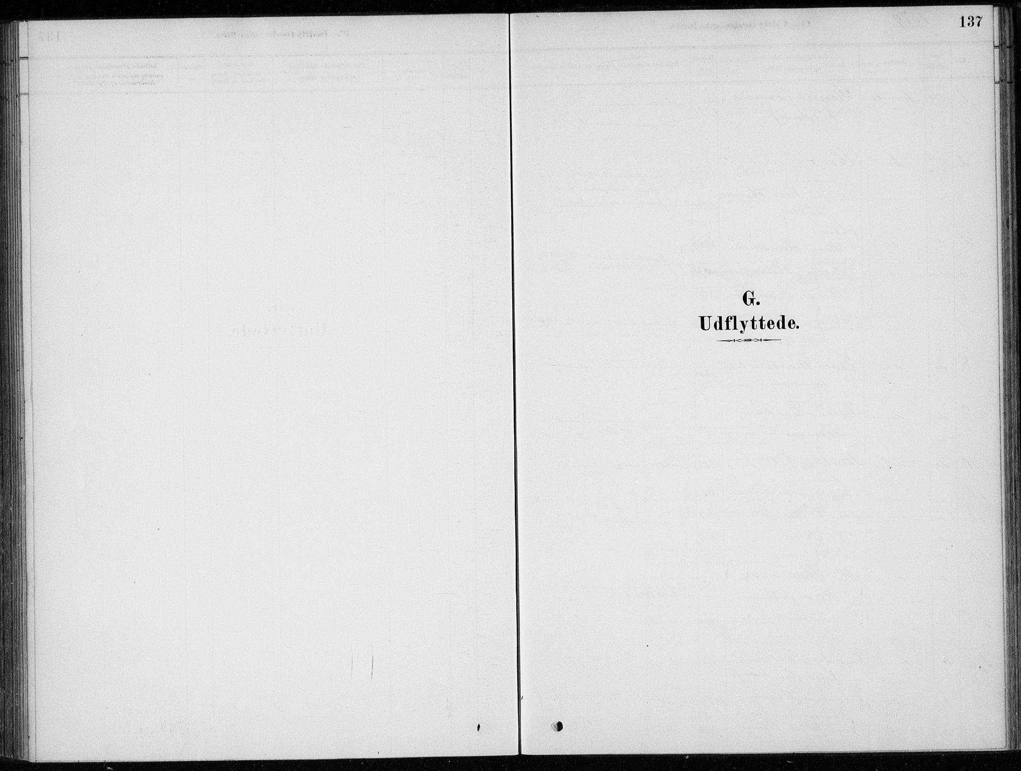 SAKO, Sigdal kirkebøker, F/Fc/L0001: Ministerialbok nr. III 1, 1879-1893, s. 137
