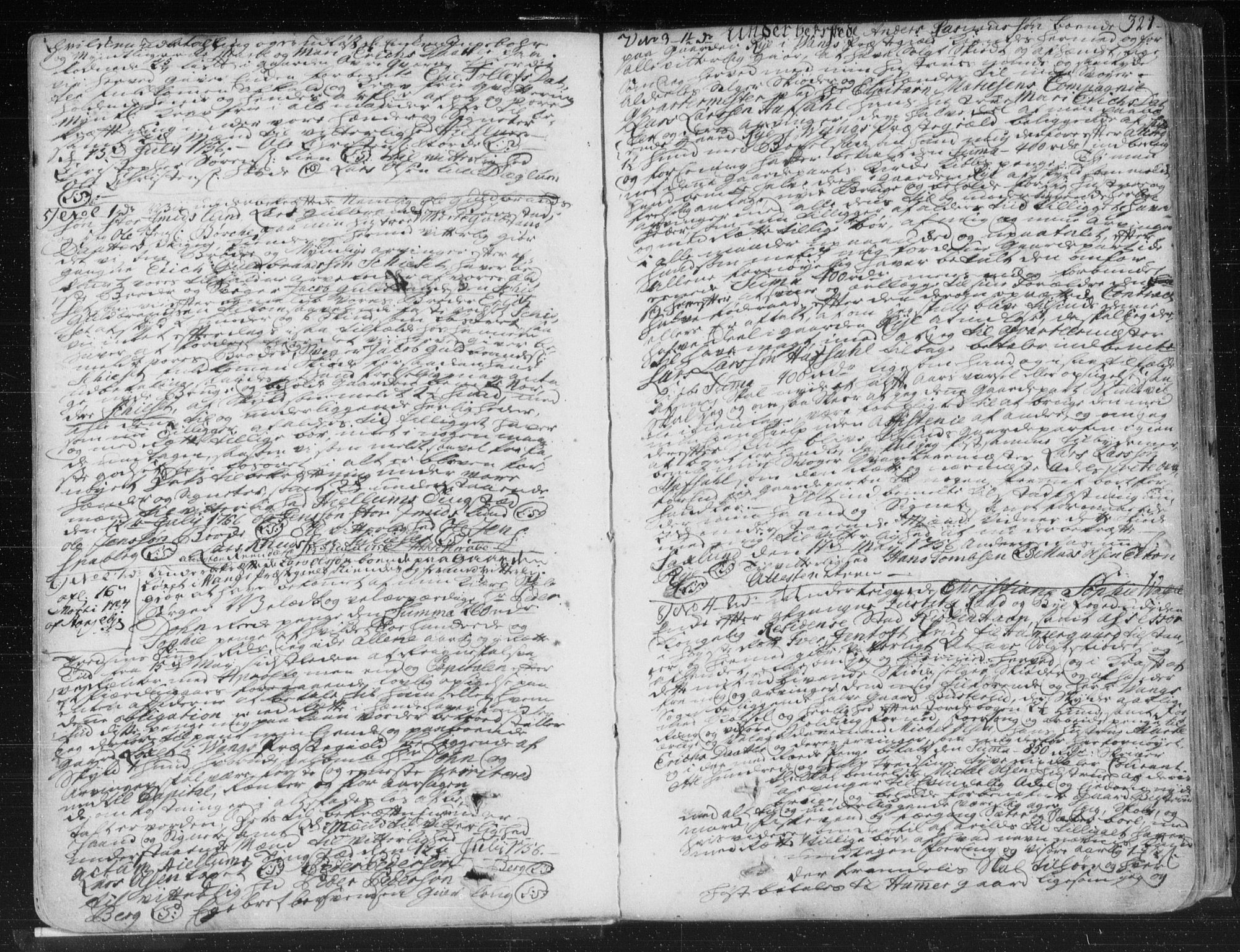 SAH, Hedemarken sorenskriveri, H/Hb/L0007B: Pantebok nr. 7b, 1756-1760, s. 321