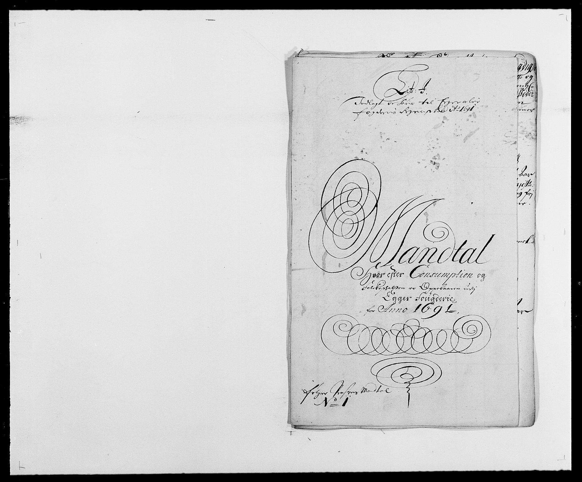 RA, Rentekammeret inntil 1814, Reviderte regnskaper, Fogderegnskap, R28/L1689: Fogderegnskap Eiker og Lier, 1690-1691, s. 295