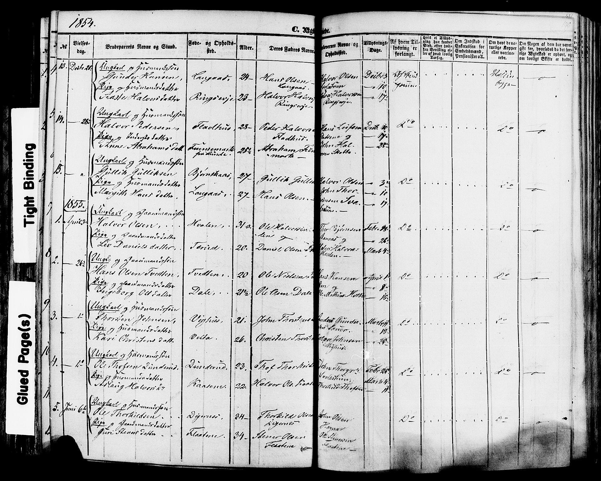 SAKO, Sauherad kirkebøker, F/Fa/L0007: Ministerialbok nr. I 7, 1851-1873, s. 149