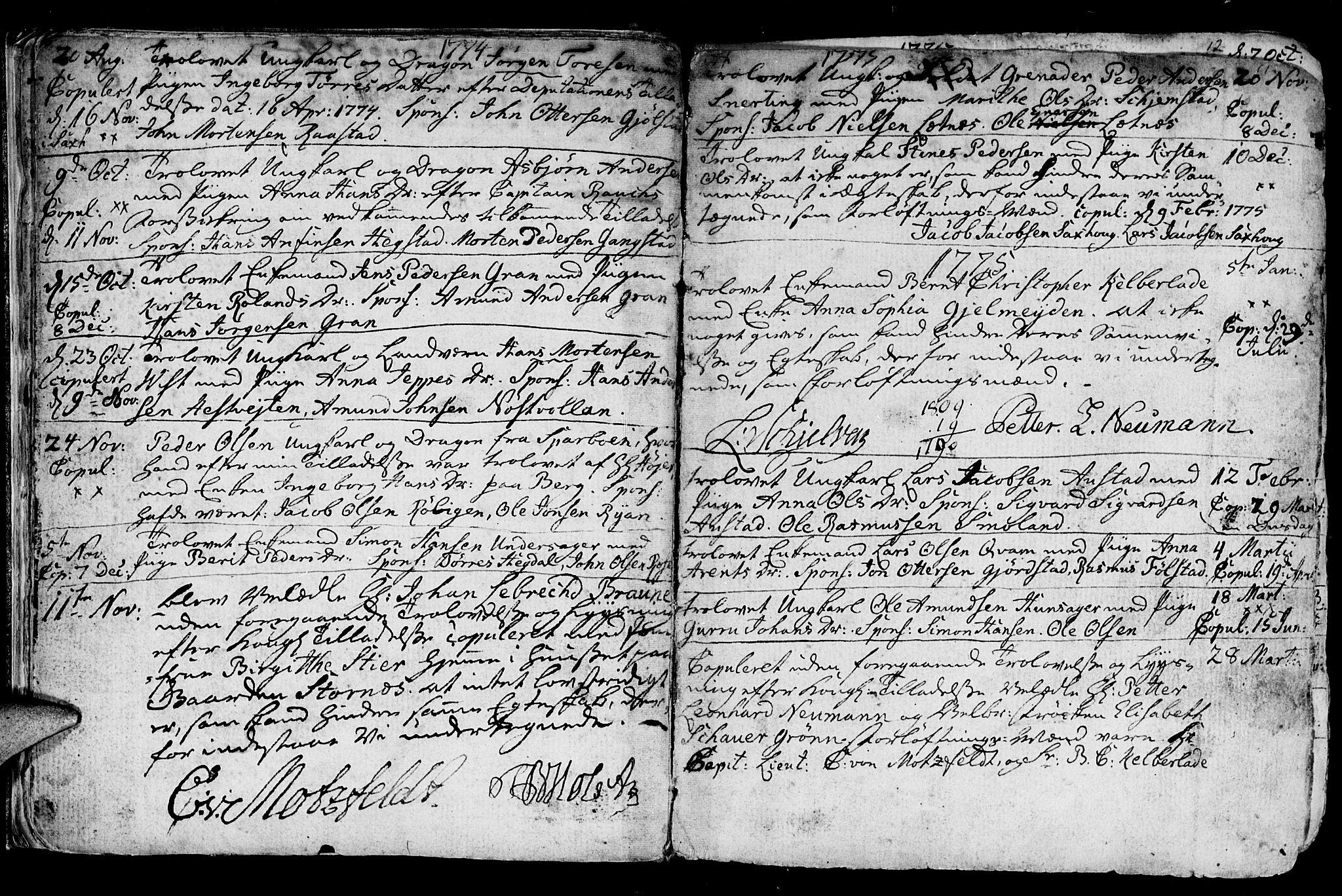 SAT, Ministerialprotokoller, klokkerbøker og fødselsregistre - Nord-Trøndelag, 730/L0273: Ministerialbok nr. 730A02, 1762-1802, s. 11