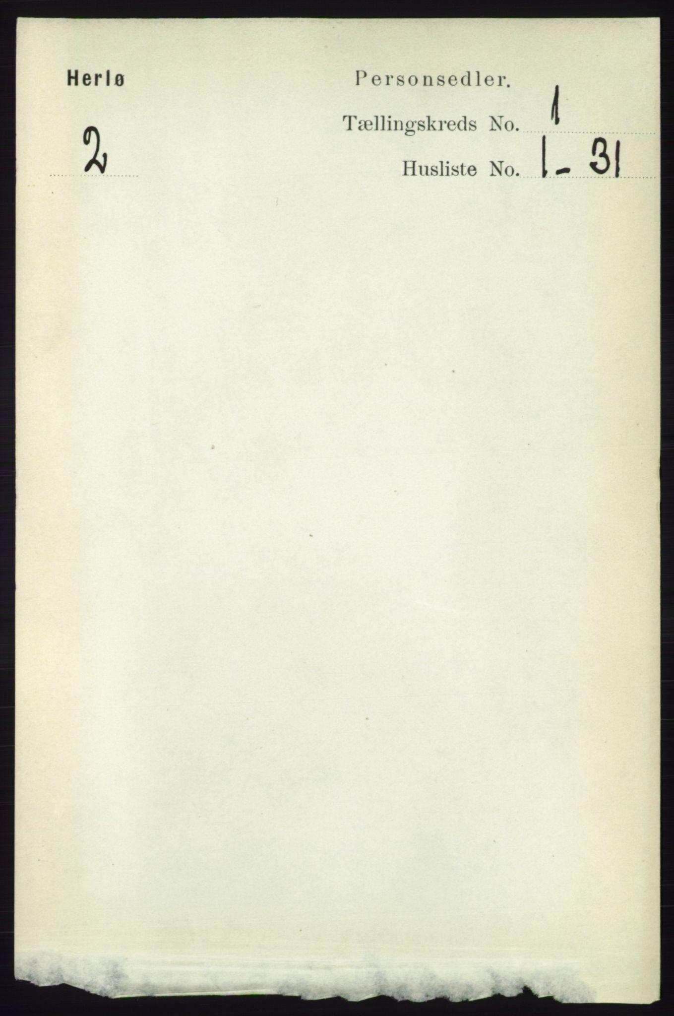 RA, Folketelling 1891 for 1258 Herdla herred, 1891, s. 85